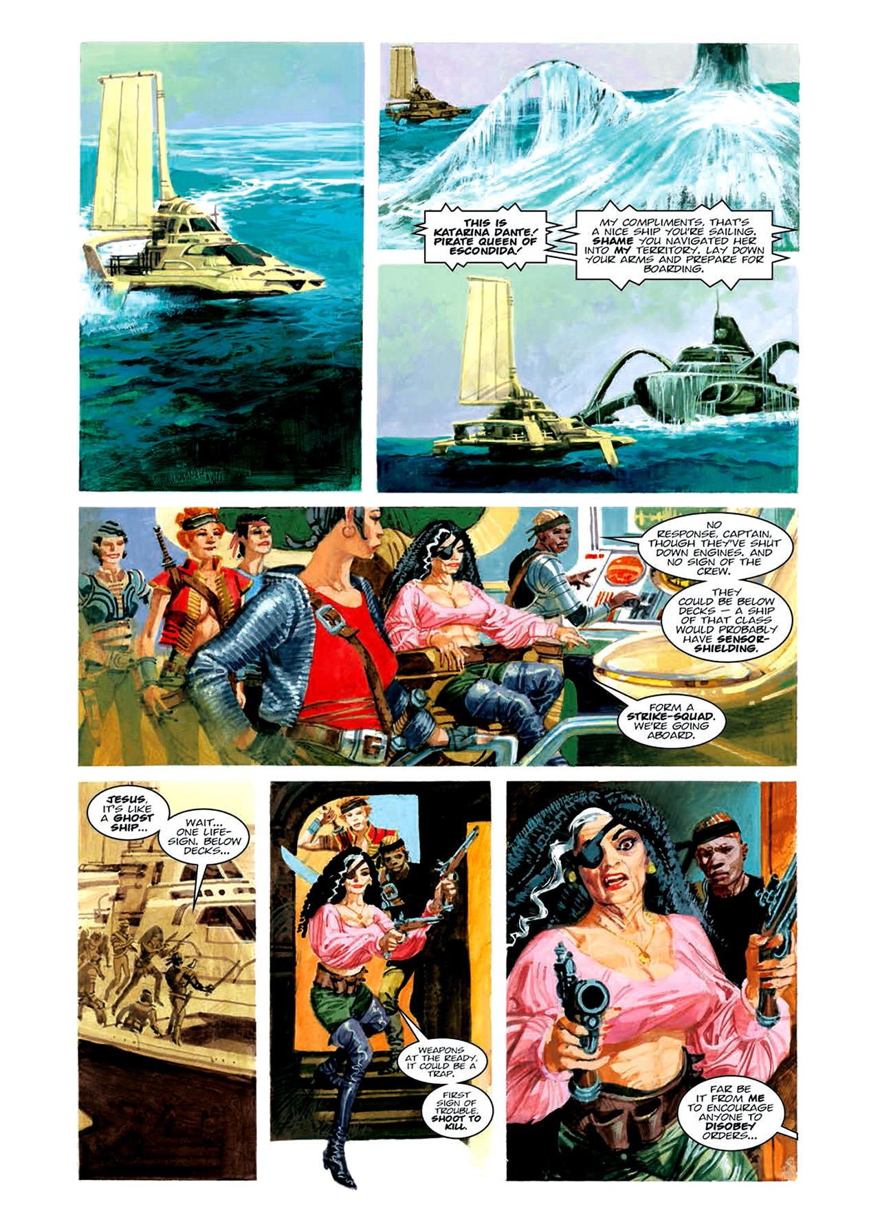 Read online Nikolai Dante comic -  Issue # TPB 6 - 119