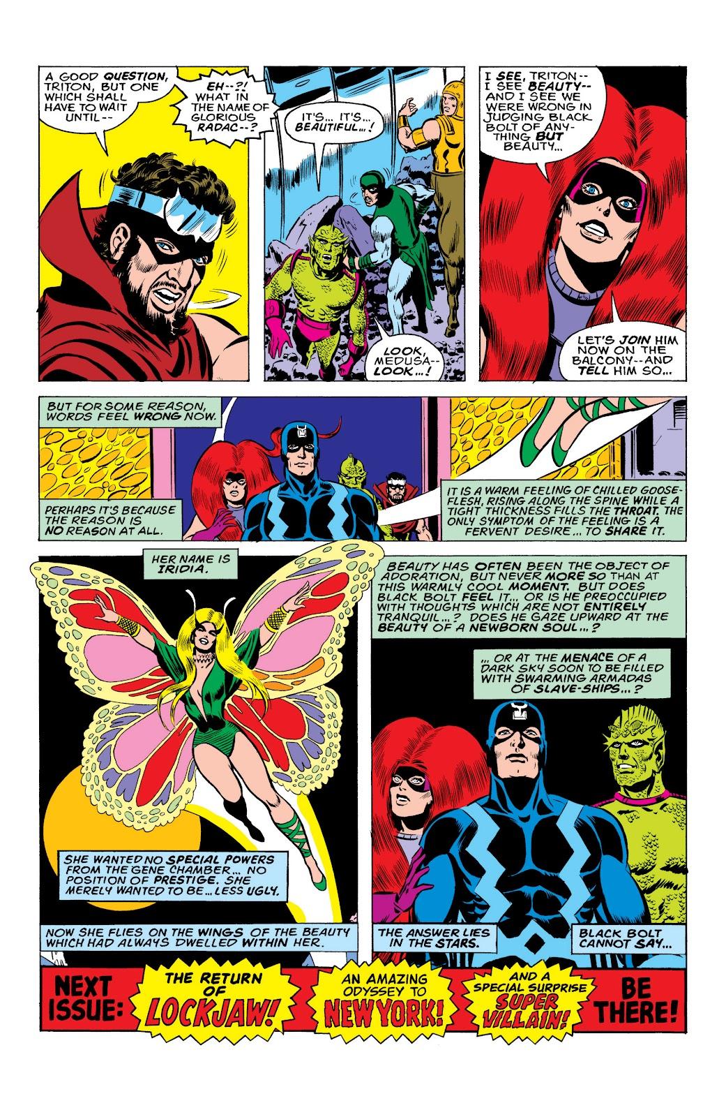 Read online Marvel Masterworks: The Inhumans comic -  Issue # TPB 2 (Part 1) - 45