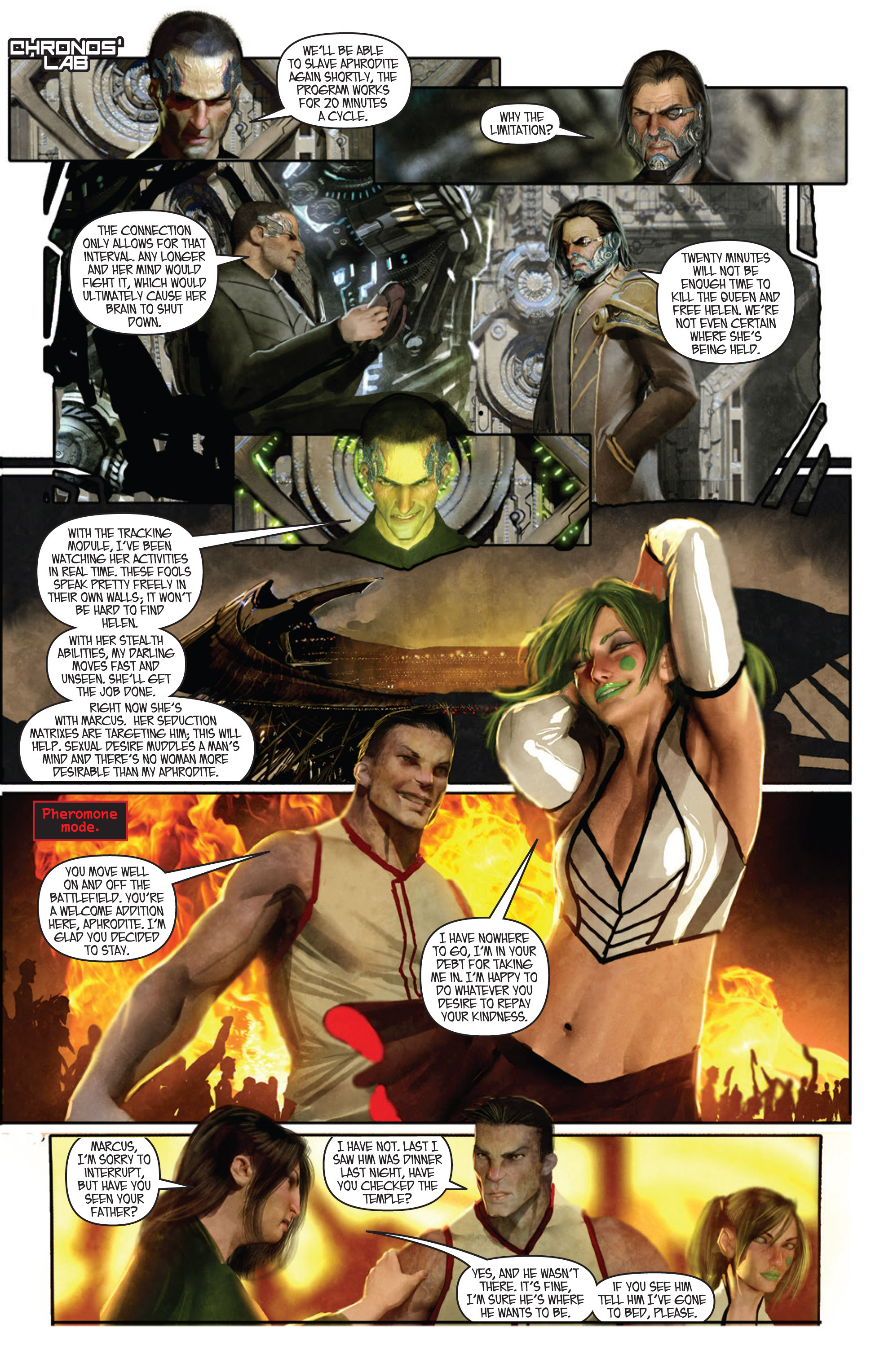 Read online Aphrodite IX (2013) comic -  Issue #Aphrodite IX (2013) _TPB 1 - 40