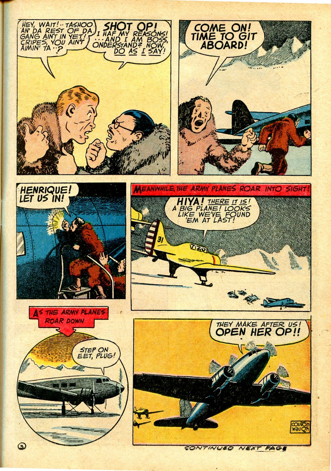 Read online Famous Funnies comic -  Issue #111 - 21