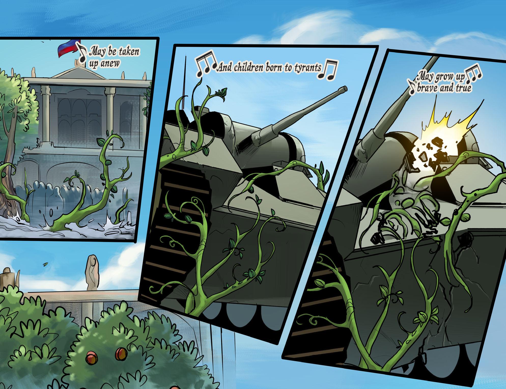 Read online DC Comics: Bombshells comic -  Issue #100 - 7
