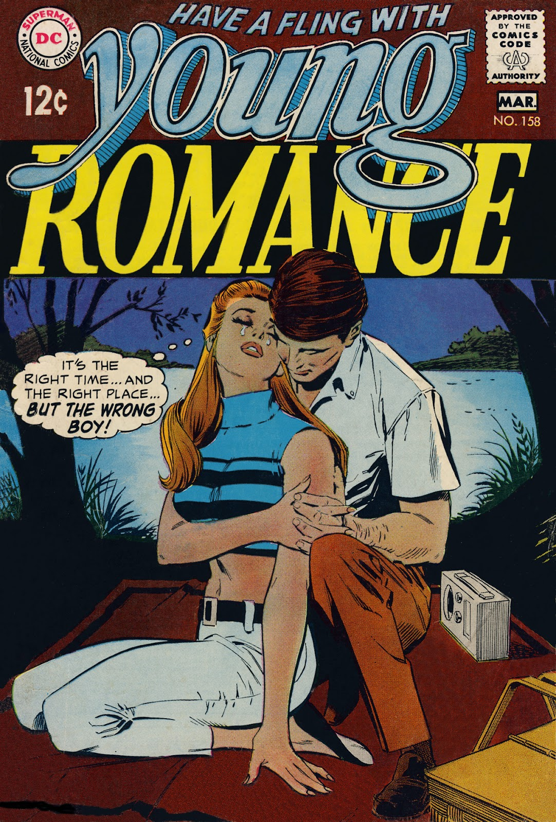 Young Romance issue 158 - Page 1