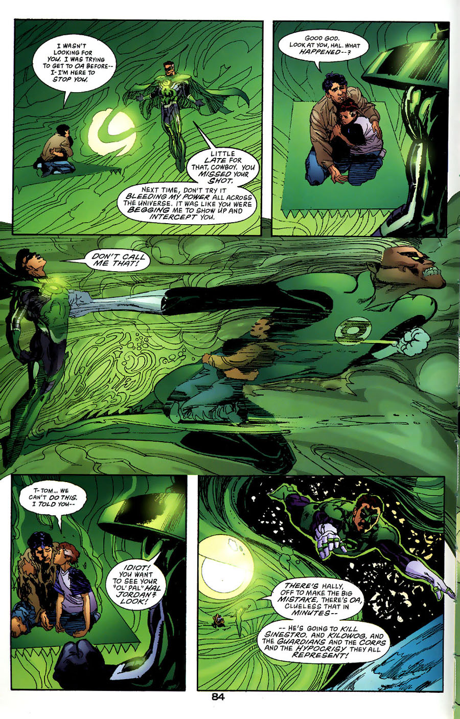 Read online Green Lantern: Legacy: The Last Will and Testament of Hal Jordan comic -  Issue # TPB - 90