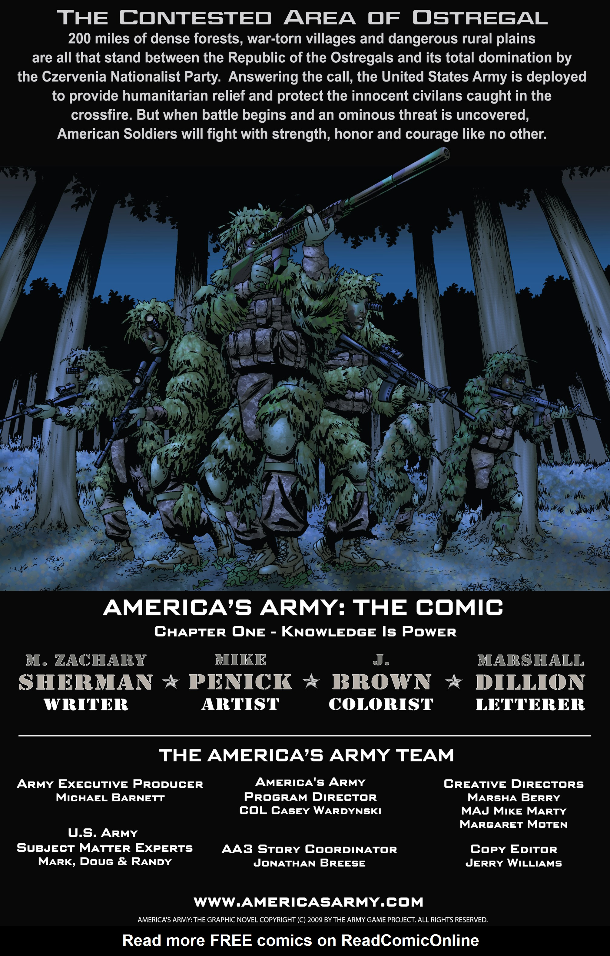 Read online America's Army comic -  Issue #1 - 2