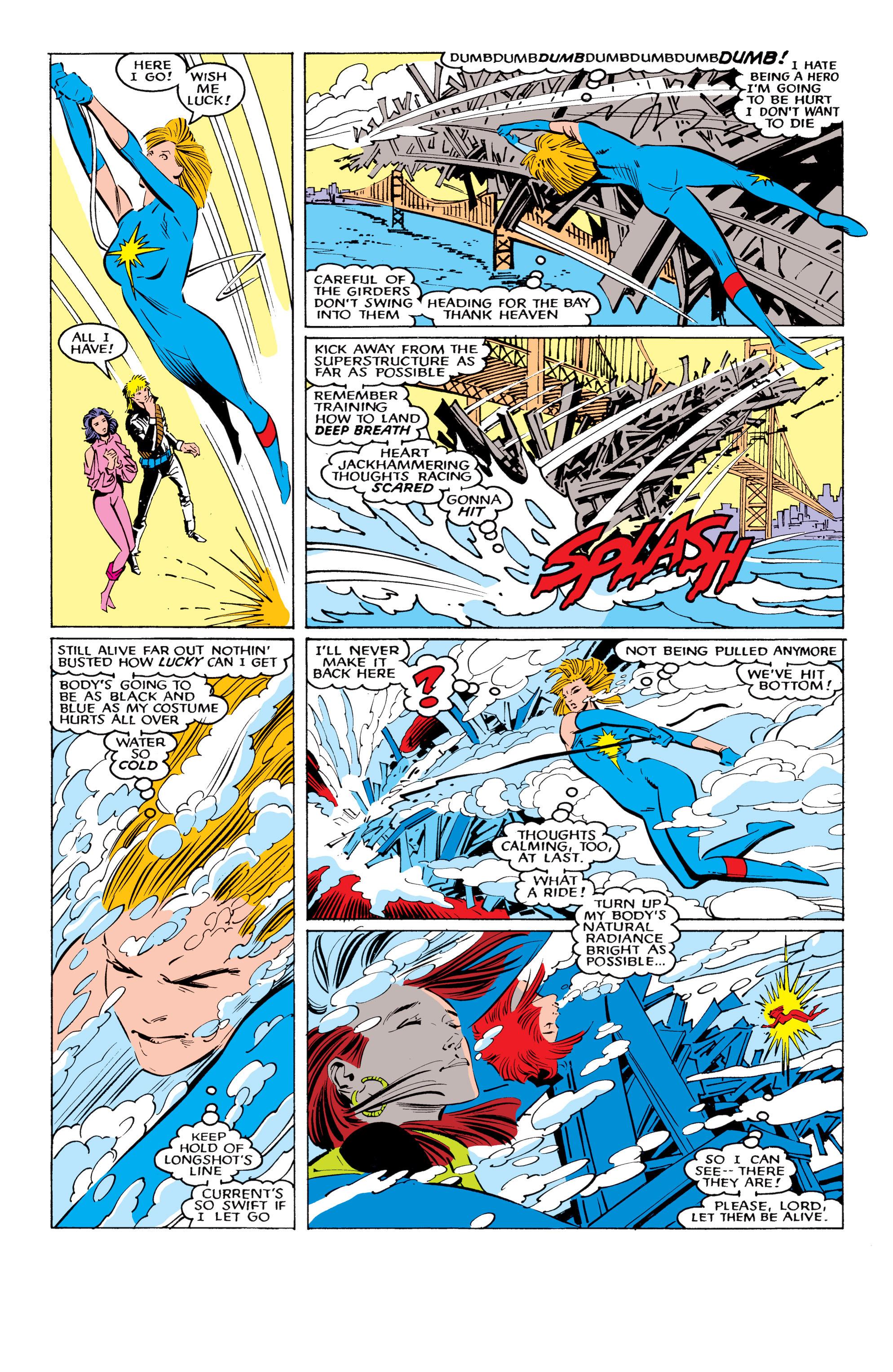 Read online Uncanny X-Men (1963) comic -  Issue #221 - 20