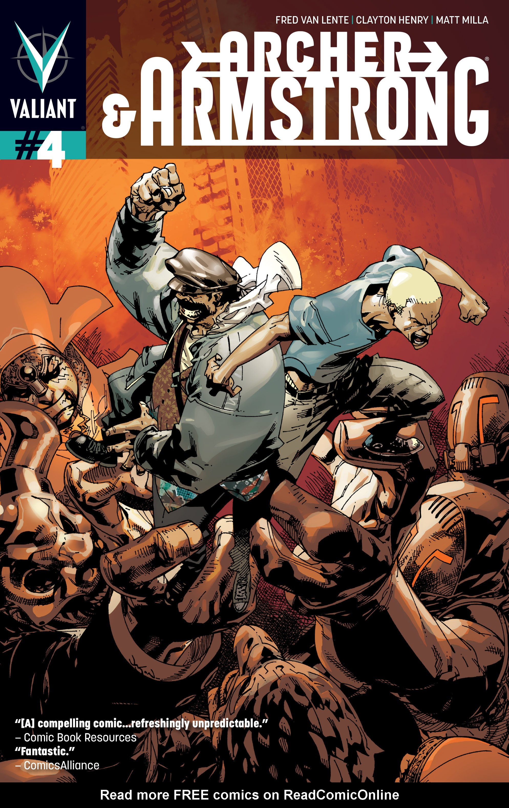 Read online Archer and Armstrong comic -  Issue #Archer and Armstrong _TPB 1 - 76