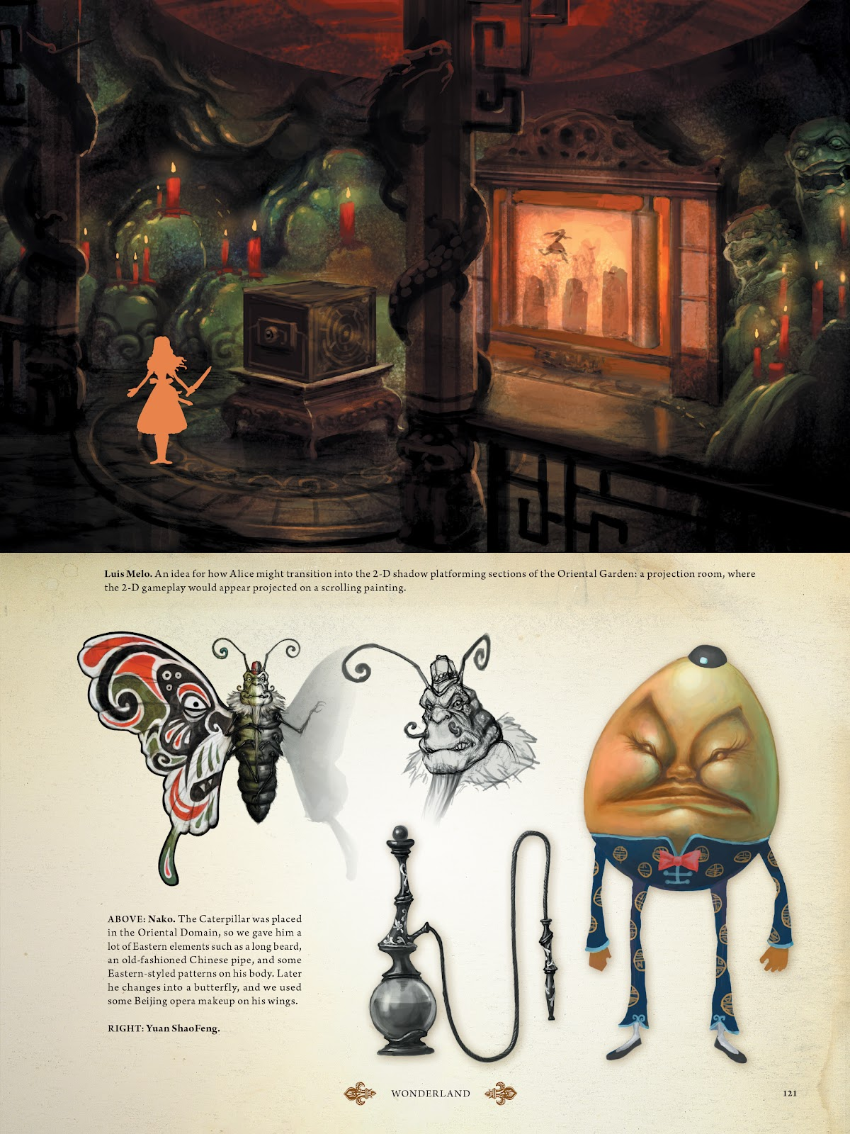 Read online The Art of Alice: Madness Returns comic -  Issue # TPB (Part 2) - 18