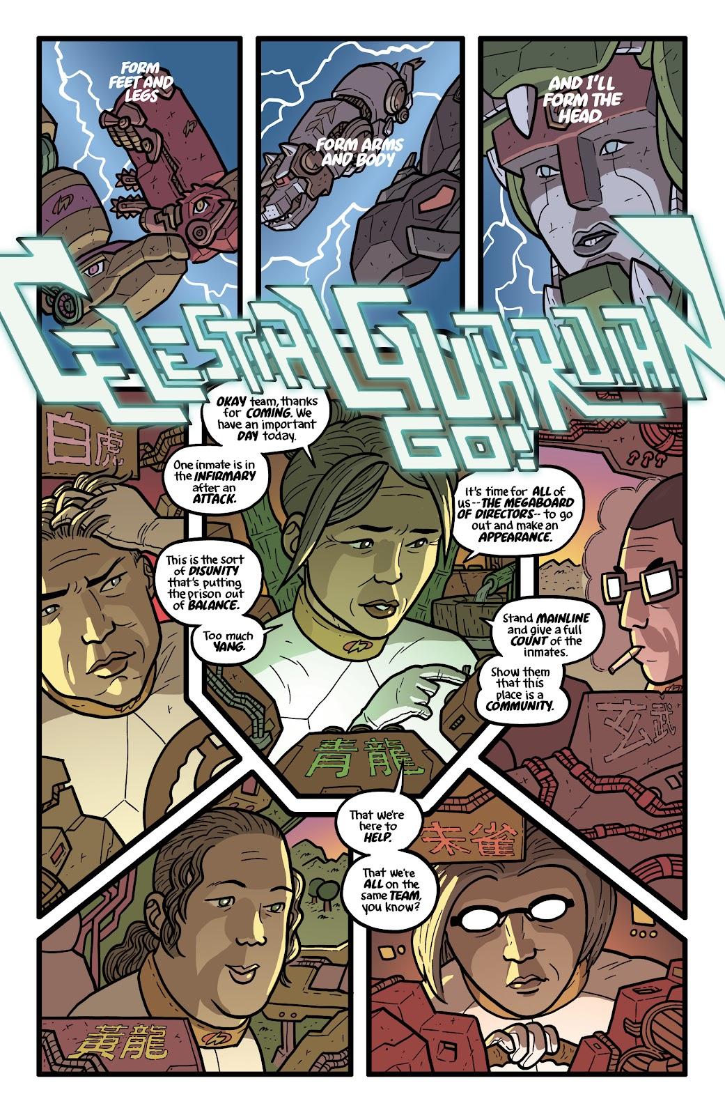 Read online Kaijumax: Season Four comic -  Issue #5 - 9