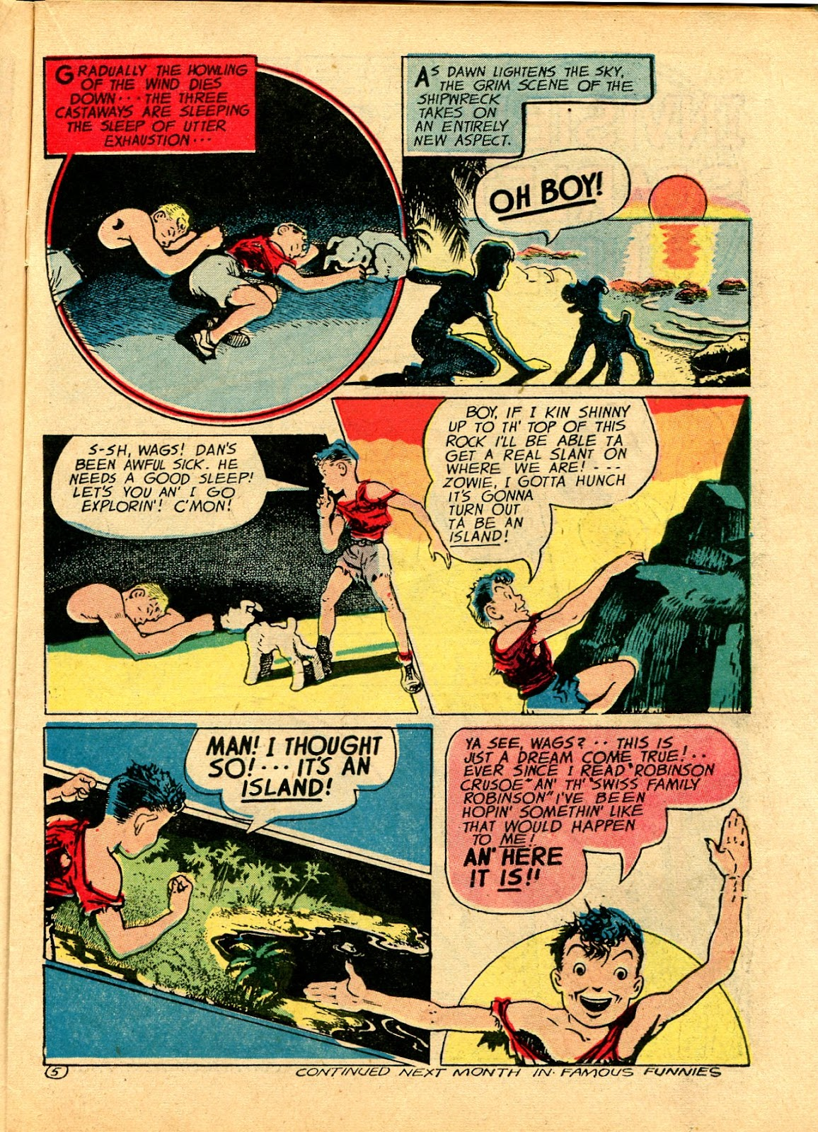 Read online Famous Funnies comic -  Issue #102 - 29