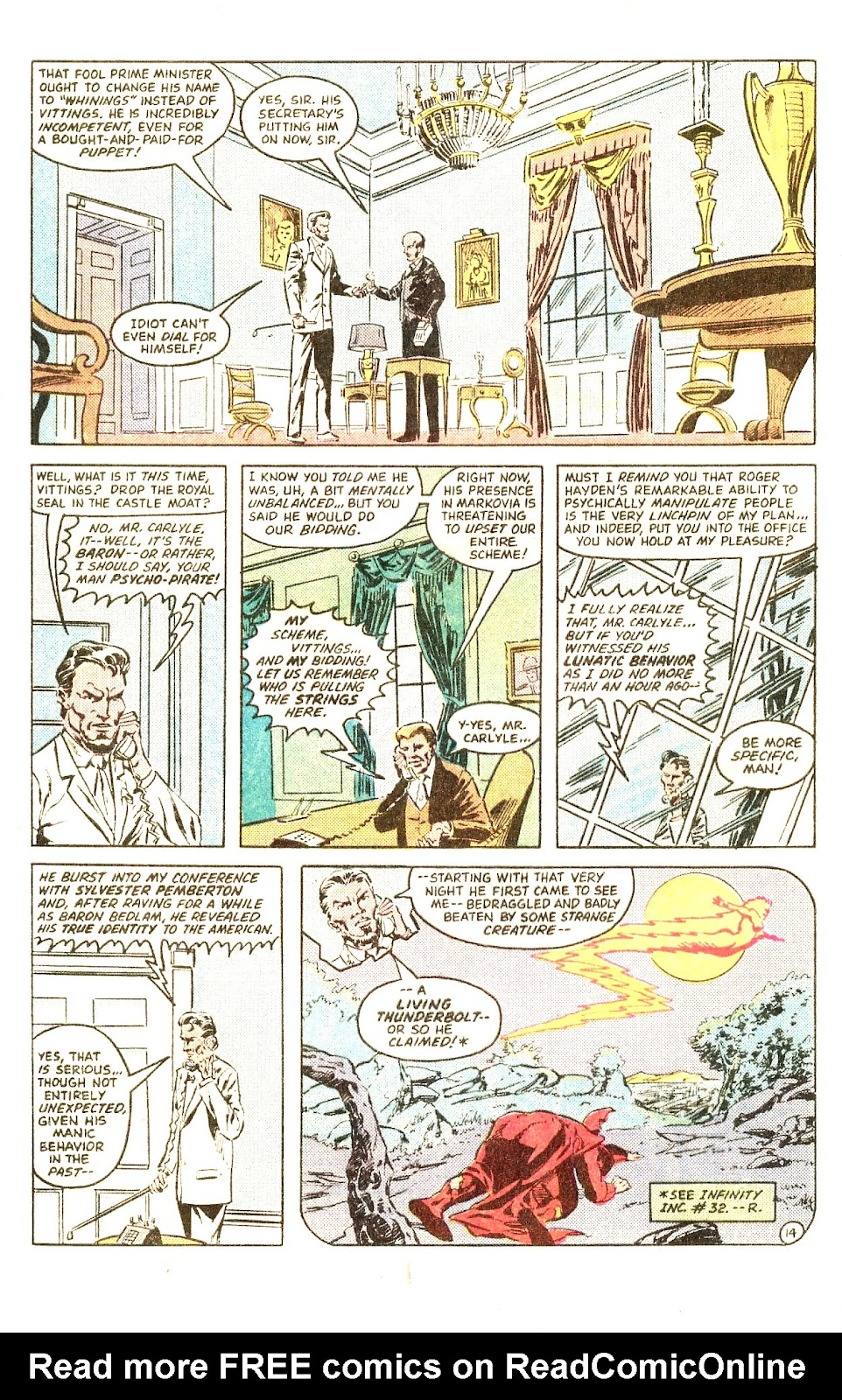 Infinity Inc. (1984) issue Special - Page 20