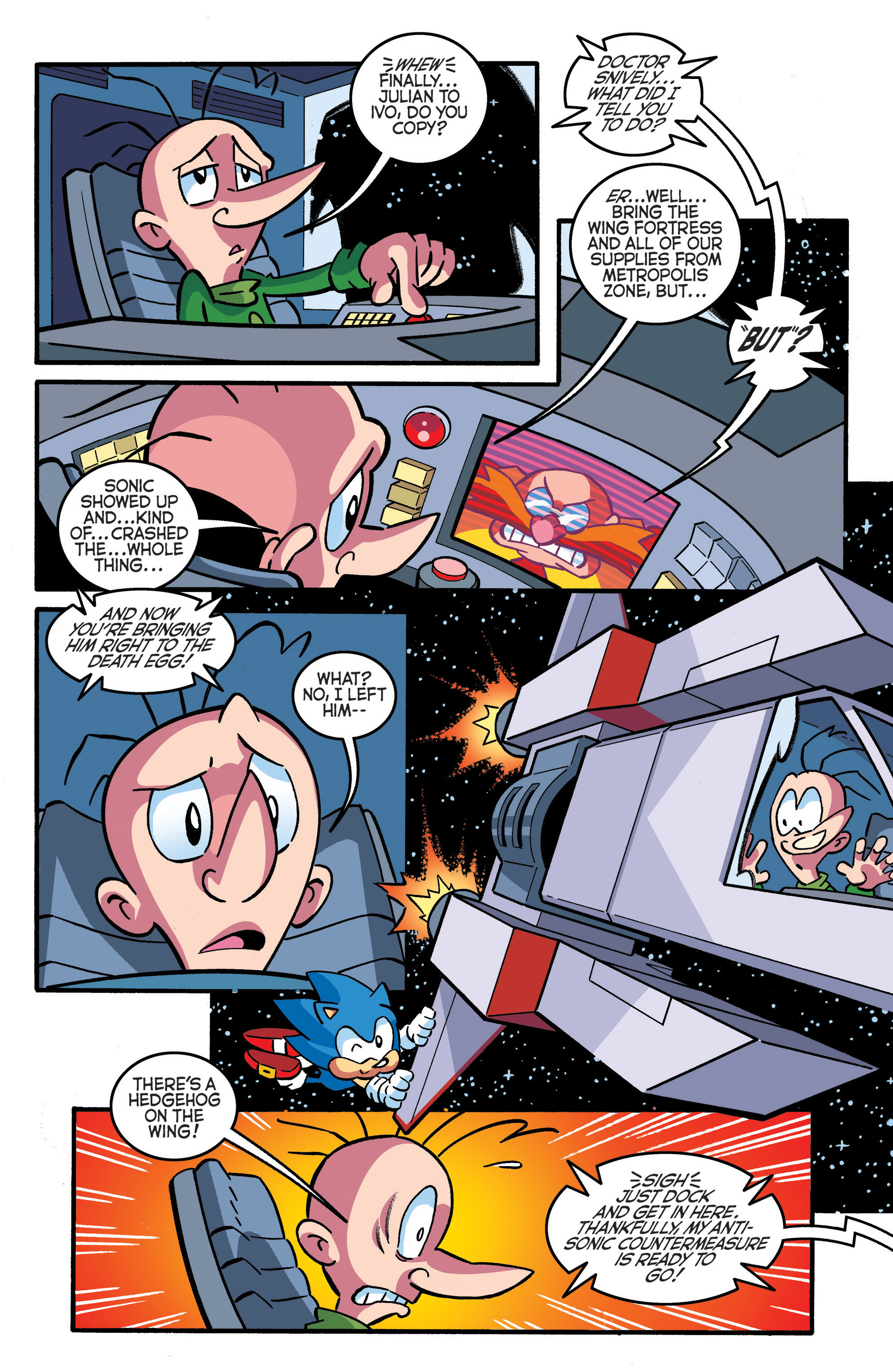 Read online Sonic The Hedgehog comic -  Issue #289 - 15