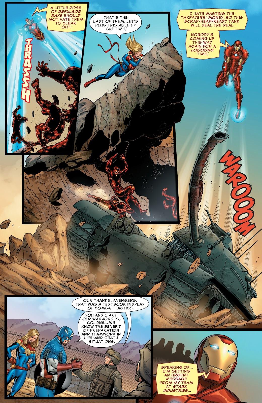 Read online Avengers: Edge of Infinity comic -  Issue # Full - 9