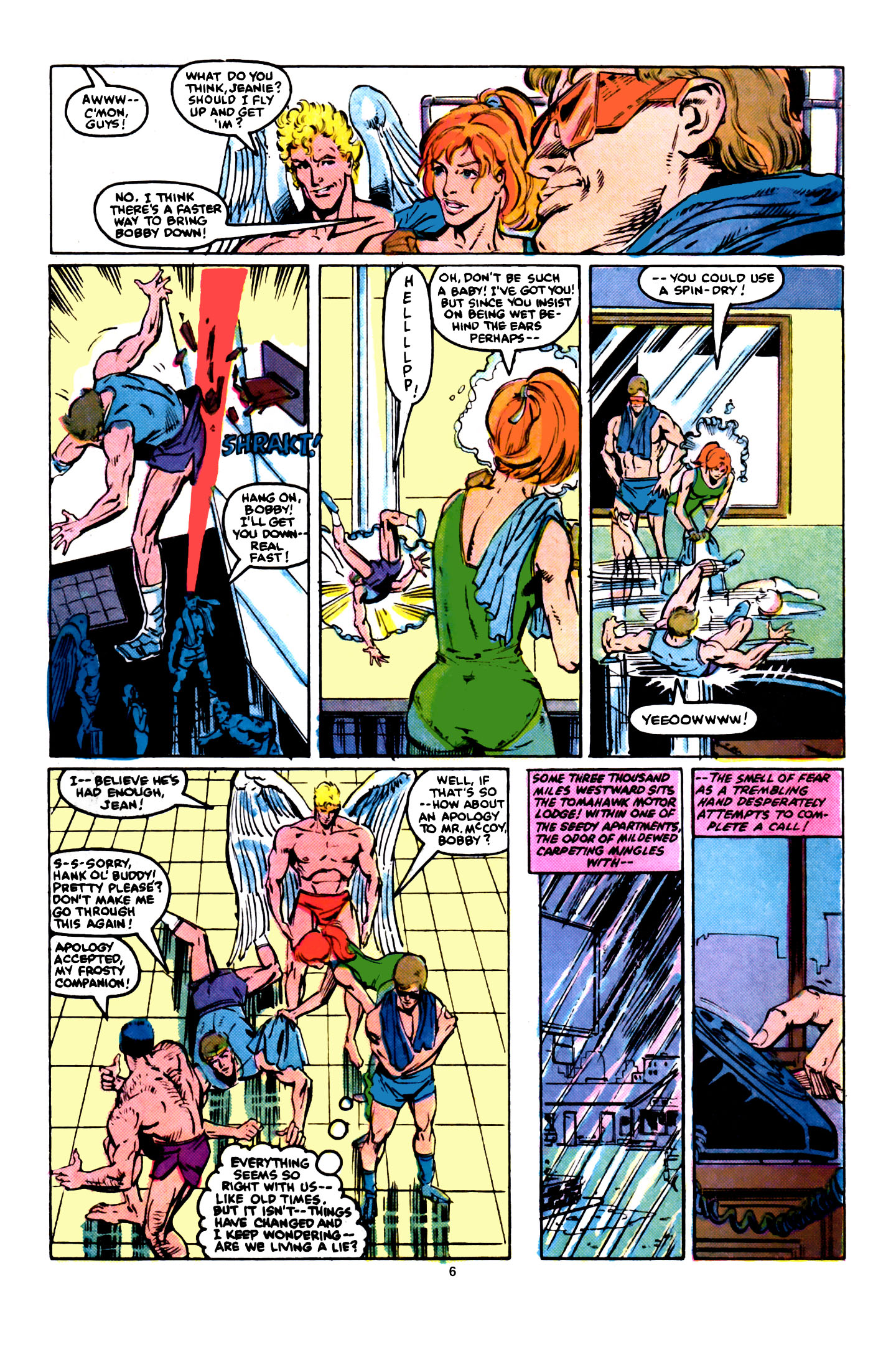 Read online X-Factor (1986) comic -  Issue #5 - 7