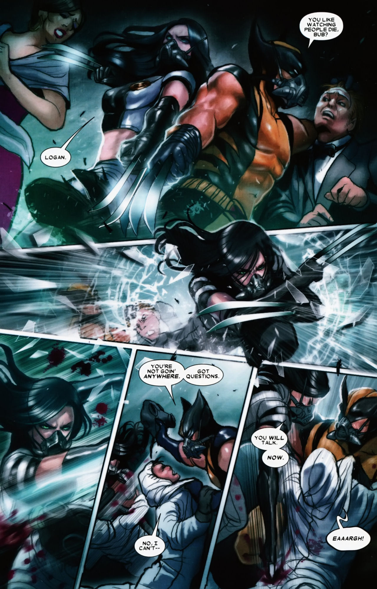 Read online X-23 (2010) comic -  Issue #11 - 17