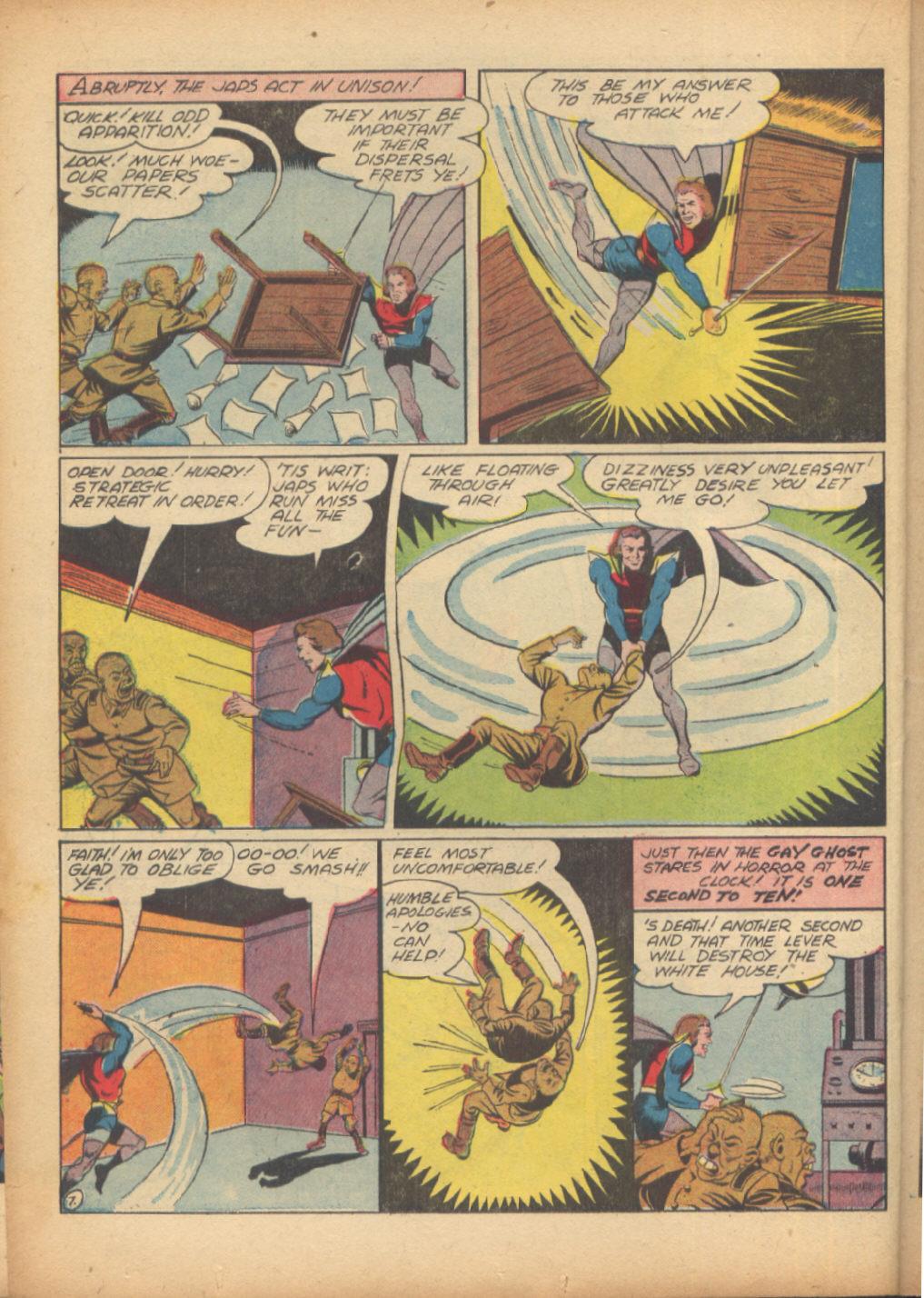 Read online Sensation (Mystery) Comics comic -  Issue #24 - 38