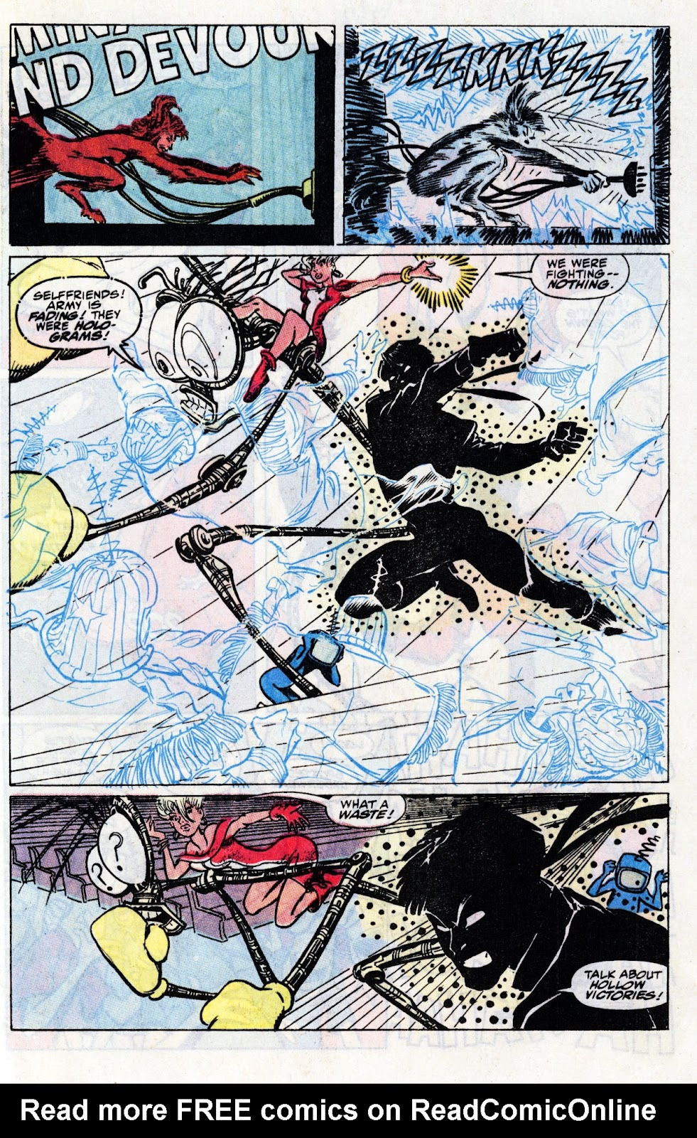 The New Mutants Summer Special issue Full - Page 71