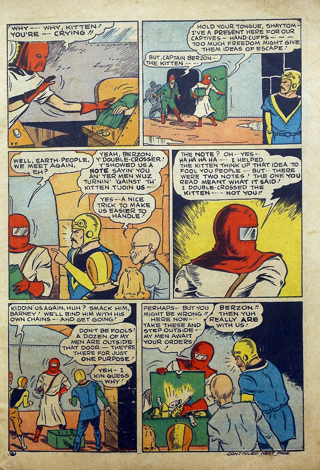 Read online Famous Funnies comic -  Issue #97 - 4