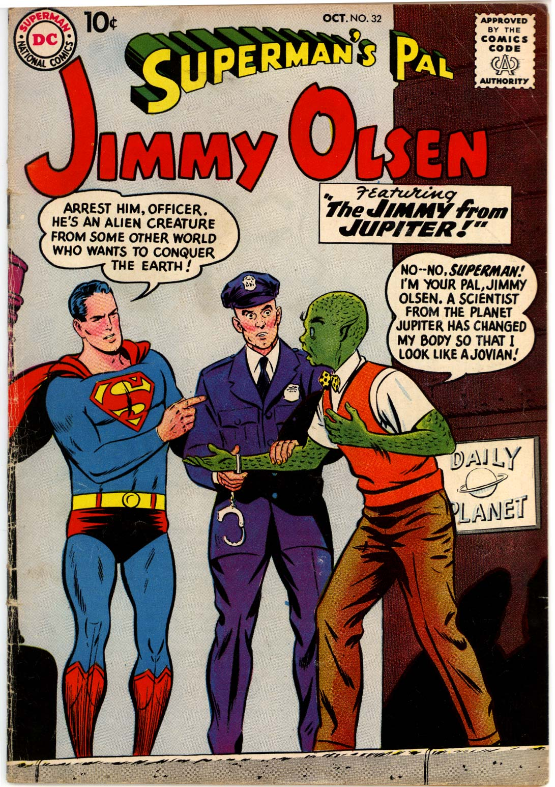 Supermans Pal Jimmy Olsen (1954) 32 Page 1