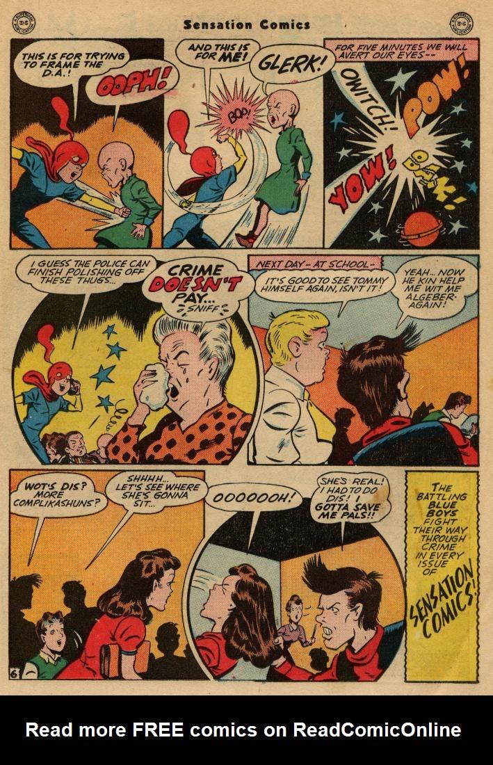 Read online Sensation (Mystery) Comics comic -  Issue #49 - 21
