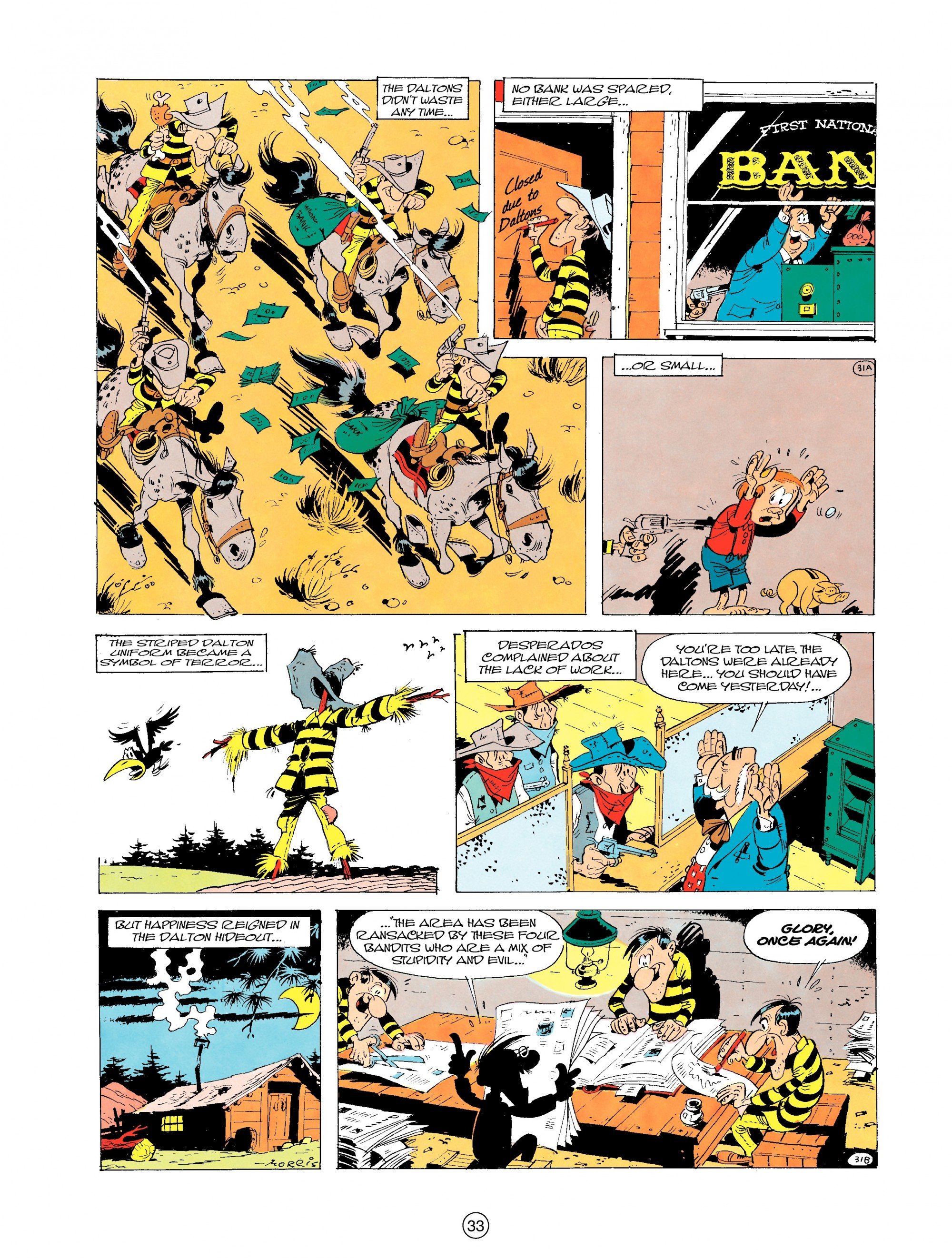 Read online A Lucky Luke Adventure comic -  Issue #19 - 33