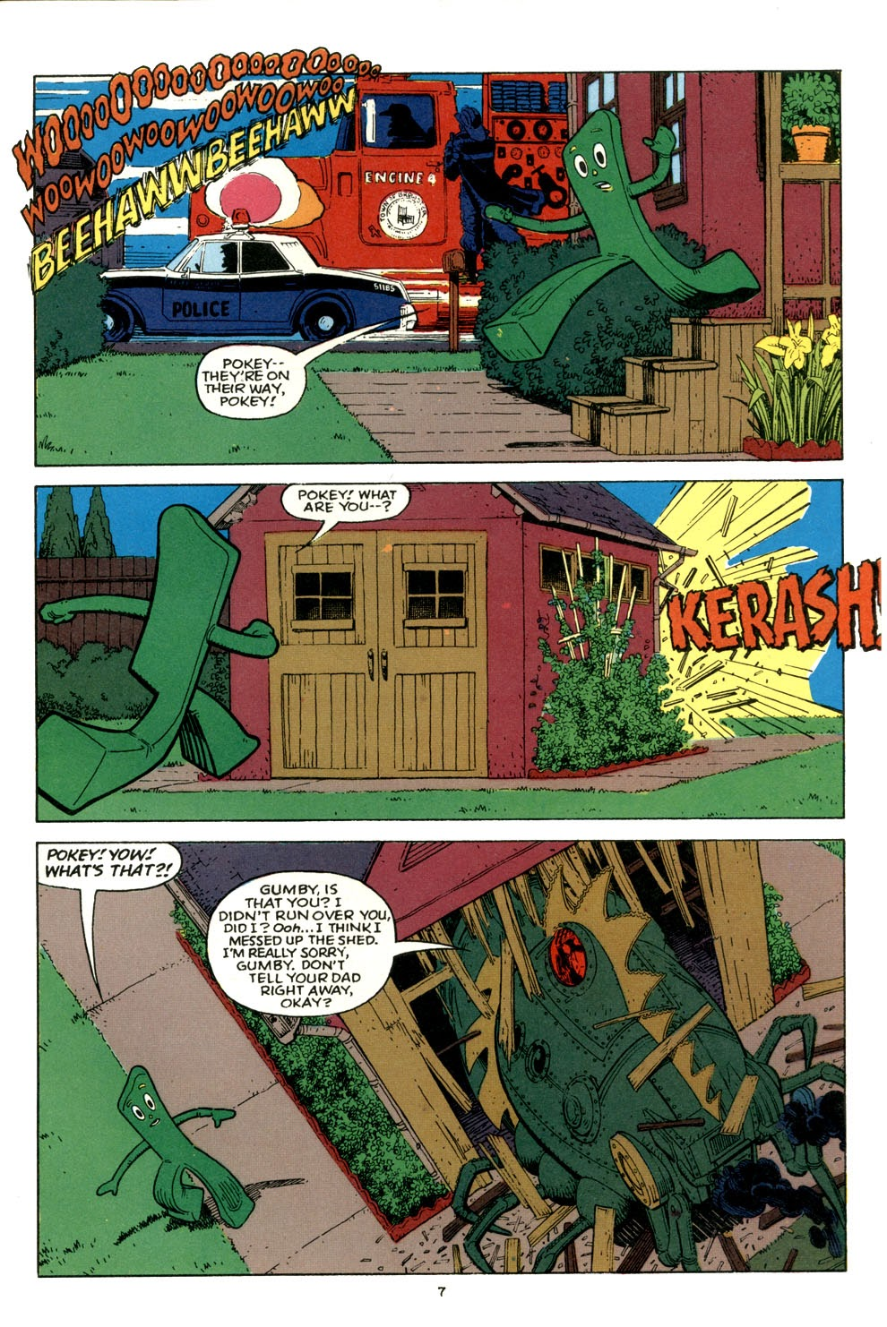 Gumby's Winter Fun Special issue Full - Page 9