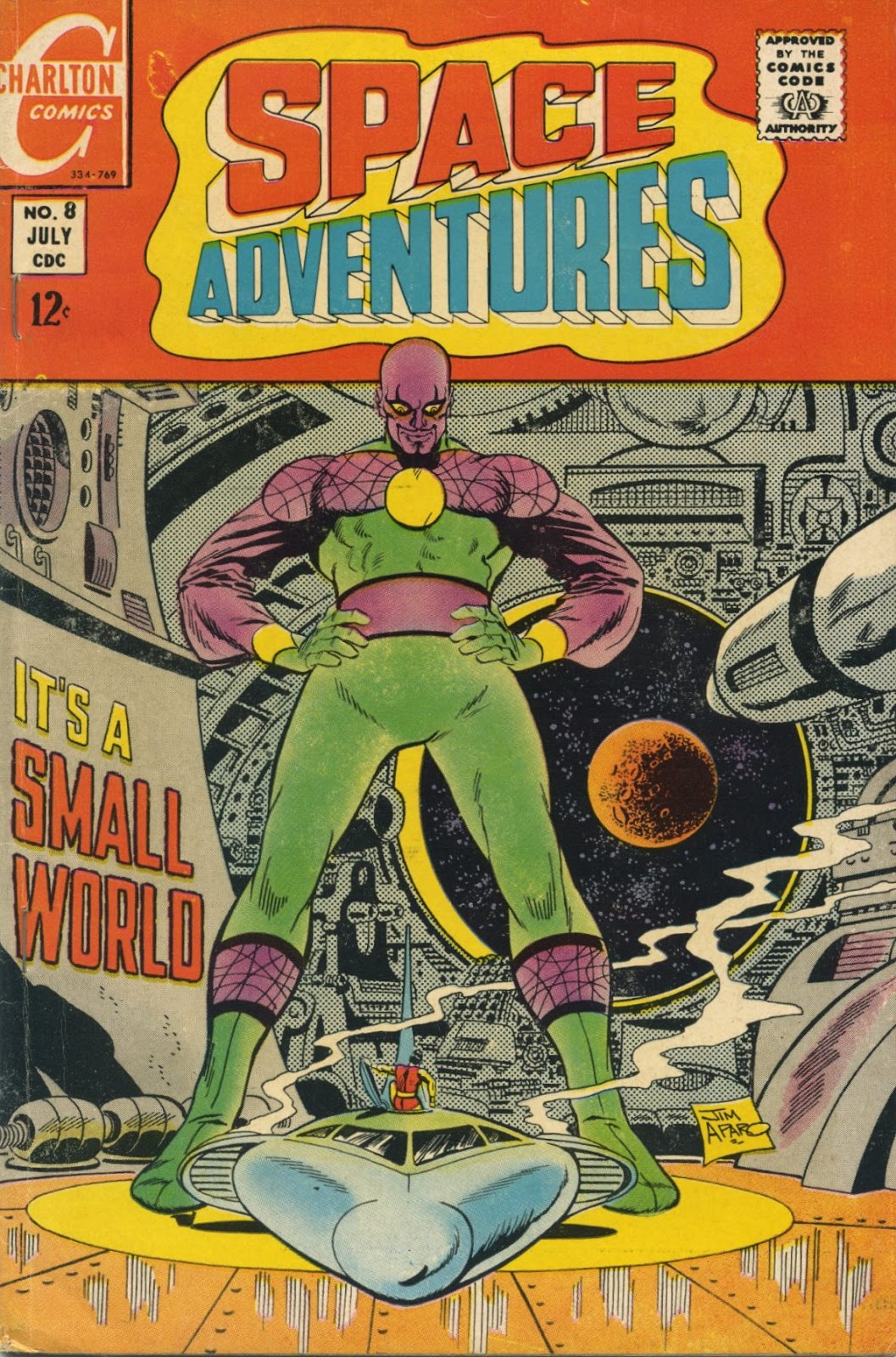 Space Adventures (1968) issue 8 - Page 1