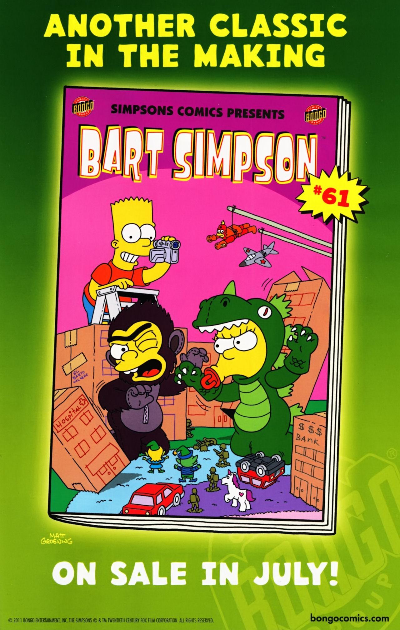 Read online Simpsons Comics Presents Bart Simpson comic -  Issue #60 - 32