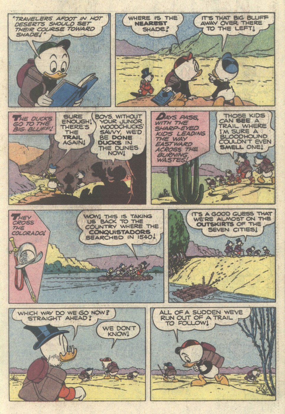 Read online Uncle Scrooge (1953) comic -  Issue #217 - 19