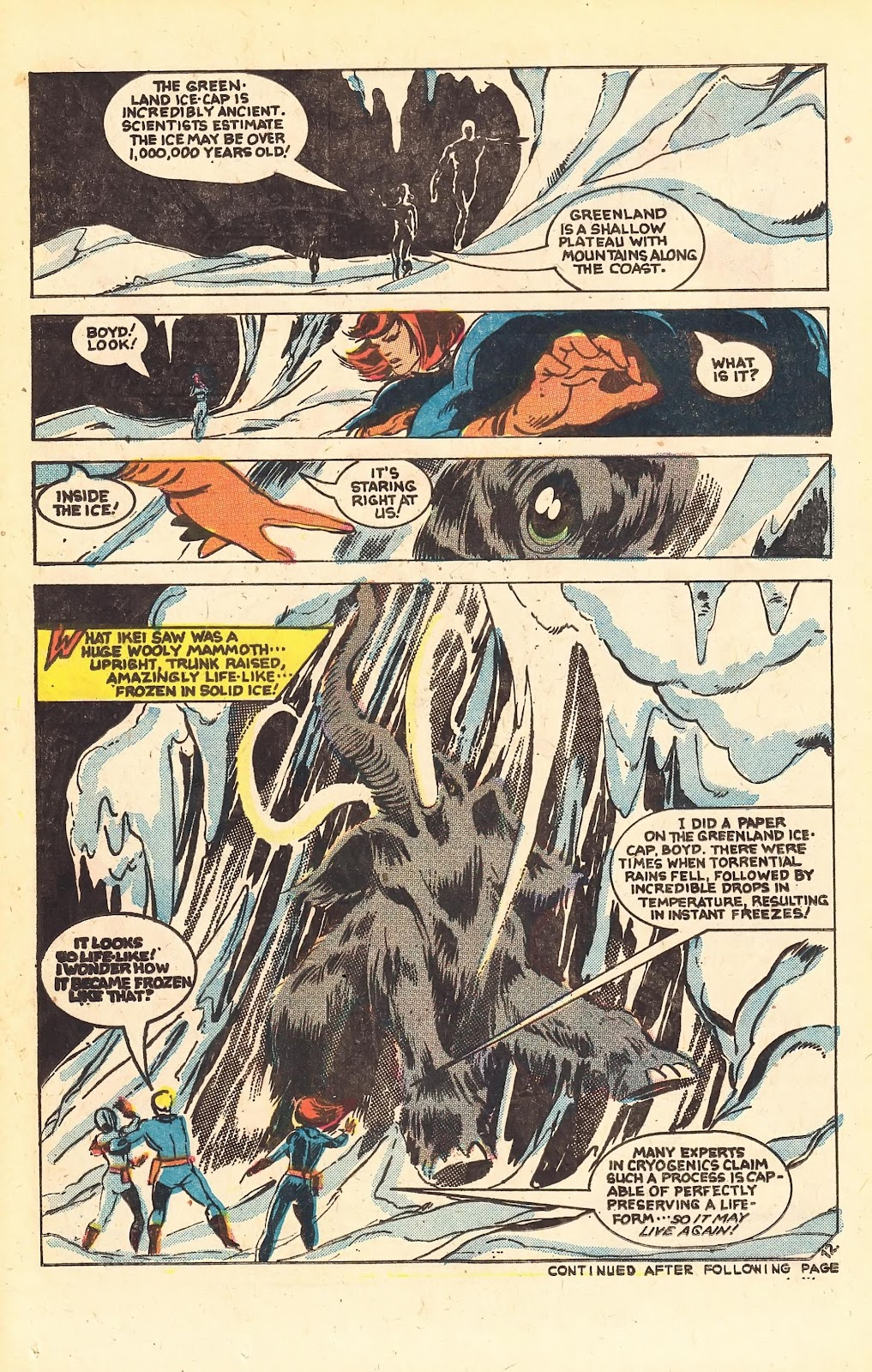 Read online Doomsday   1 (1975) comic -  Issue #1 - 16