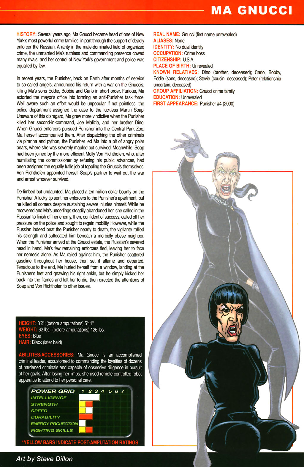 Read online All-New Official Handbook of the Marvel Universe A to Z comic -  Issue #4 - 63