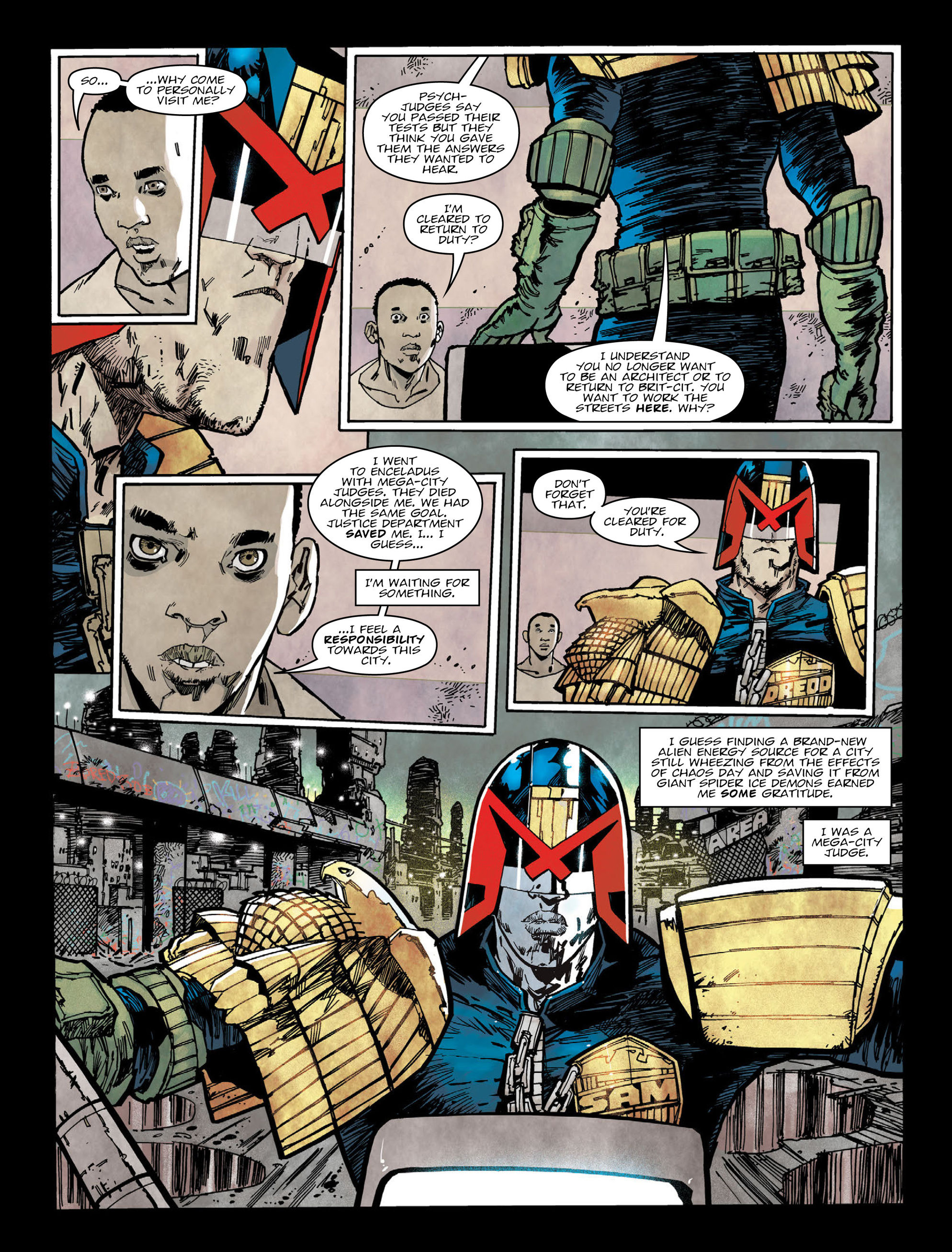 Read online 2000 AD comic -  Issue #2004 - 6