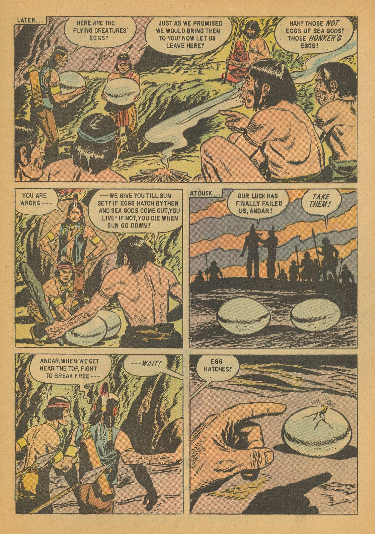 Read online Turok, Son of Stone comic -  Issue #14 - 33