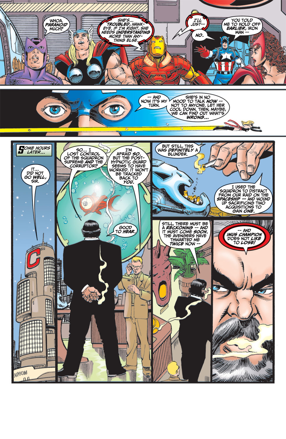 Read online Avengers (1998) comic -  Issue #6 - 23