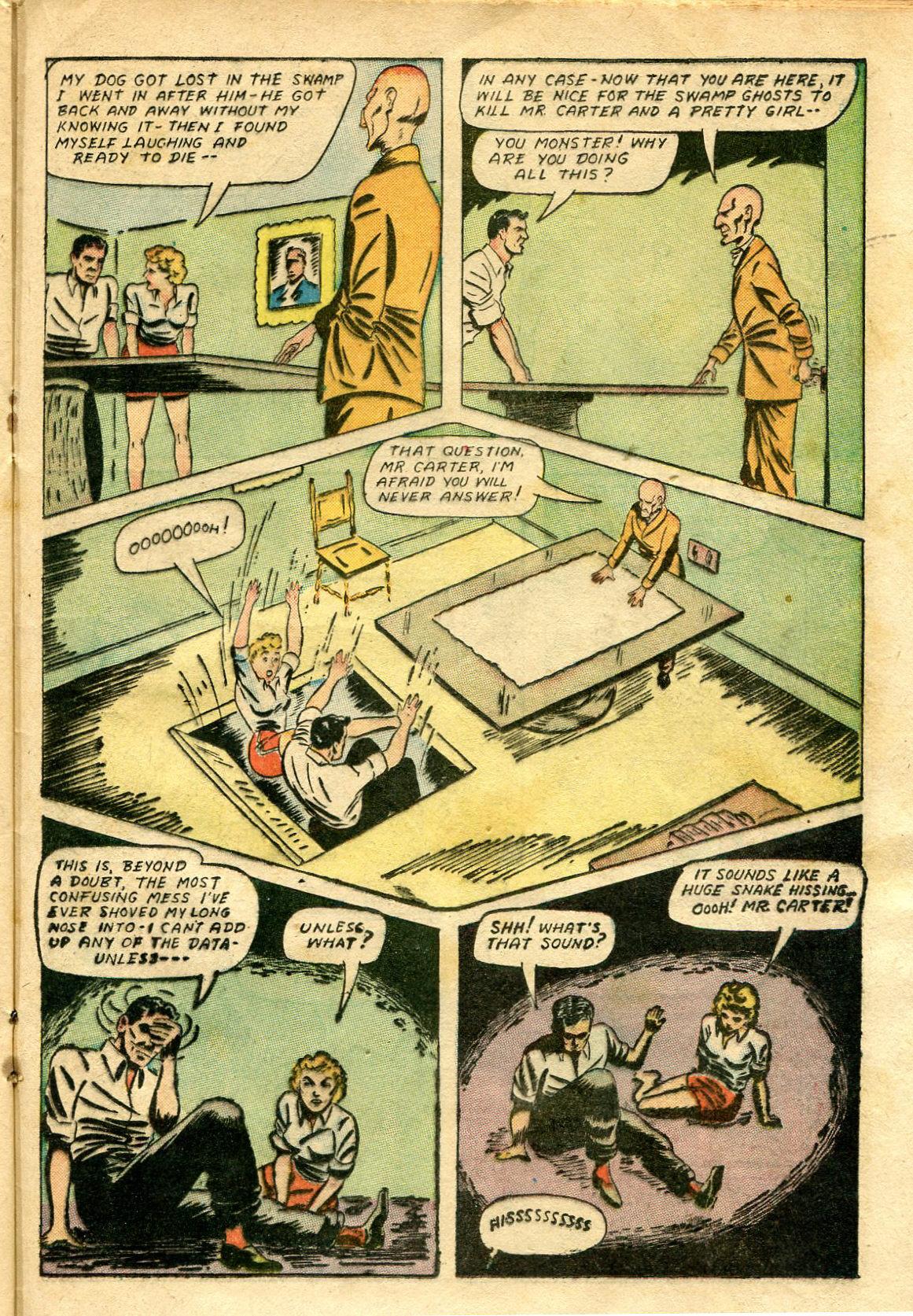 Read online Shadow Comics comic -  Issue #65 - 33