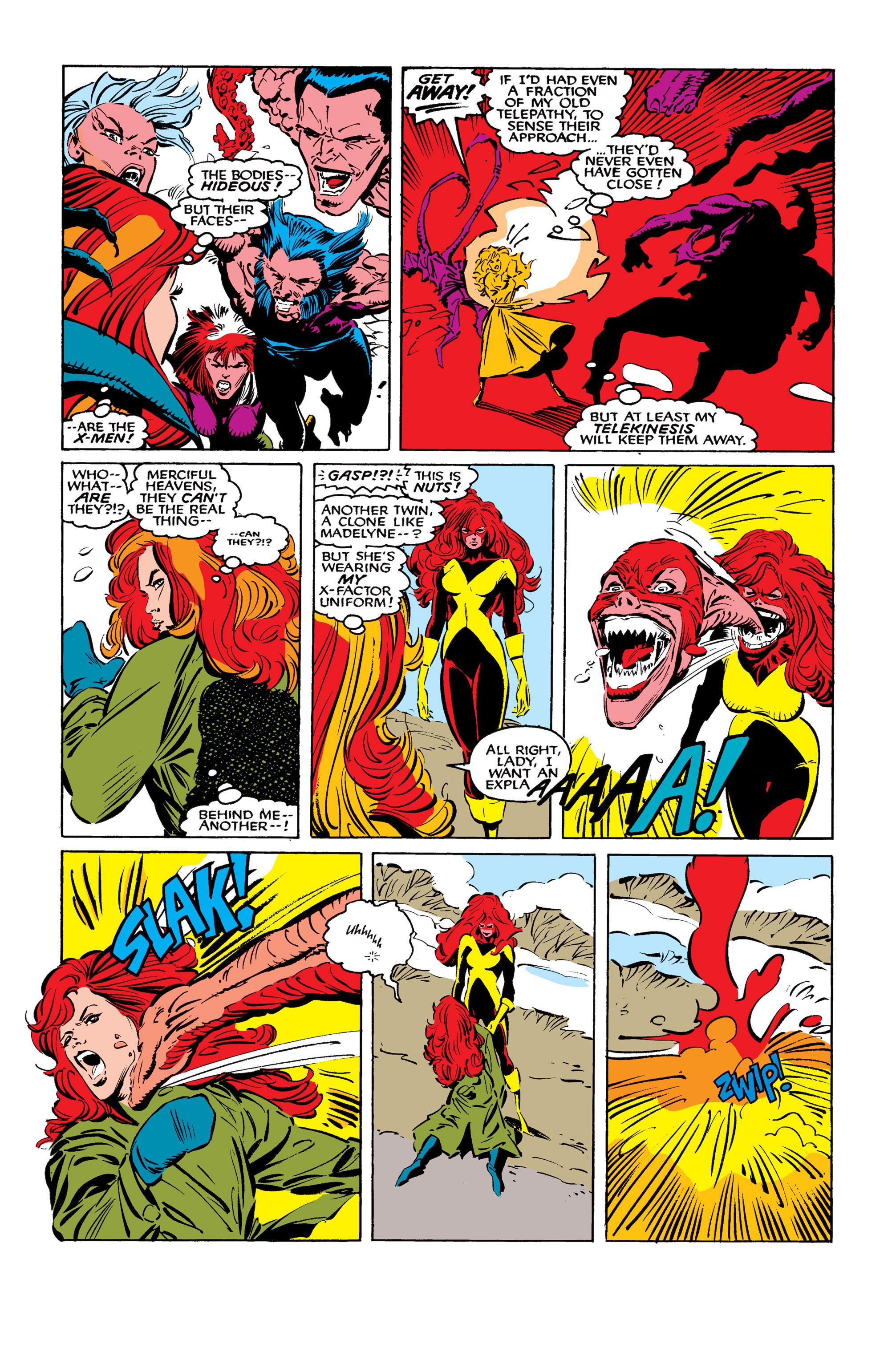Read online Uncanny X-Men (1963) comic -  Issue #261 - 12