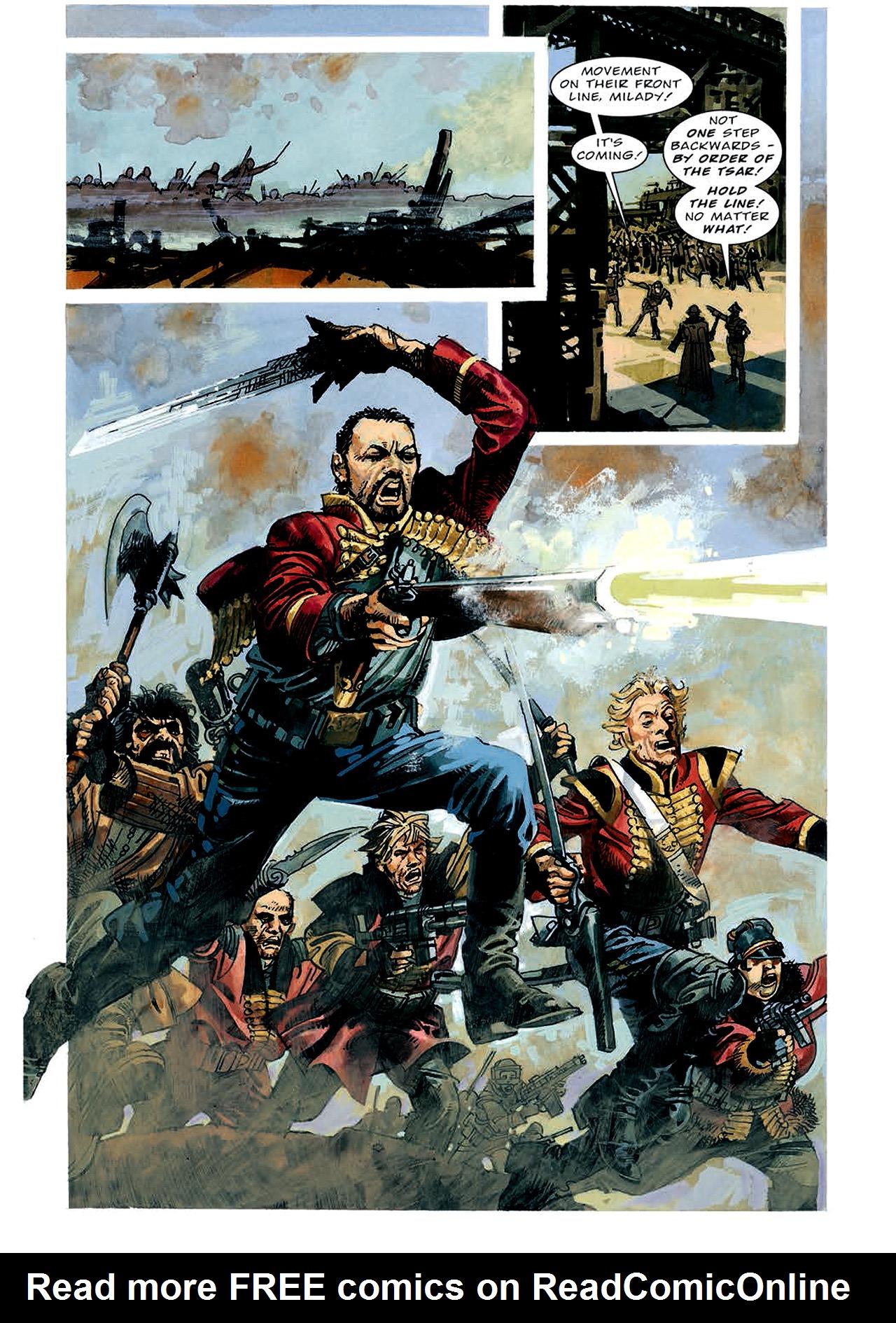 Read online Nikolai Dante comic -  Issue # TPB 4 - 67