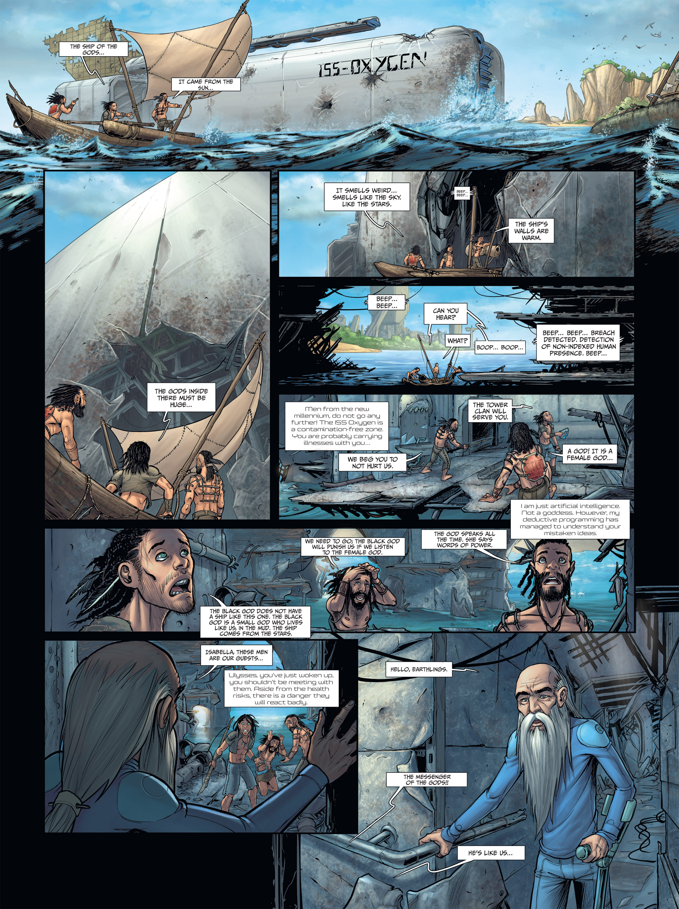 Read online Androïds comic -  Issue #2 - 28