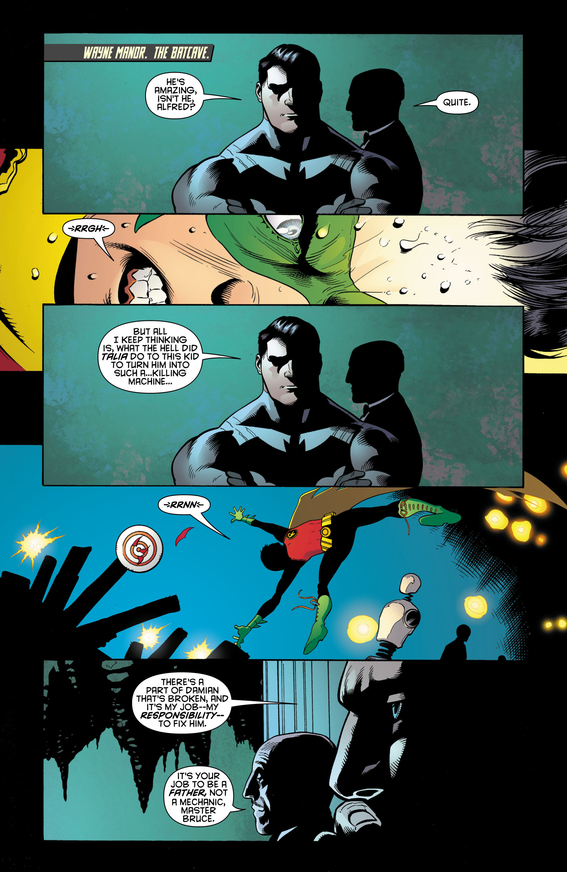 Read online Batman and Robin (2011) comic -  Issue # TPB 1 - 28