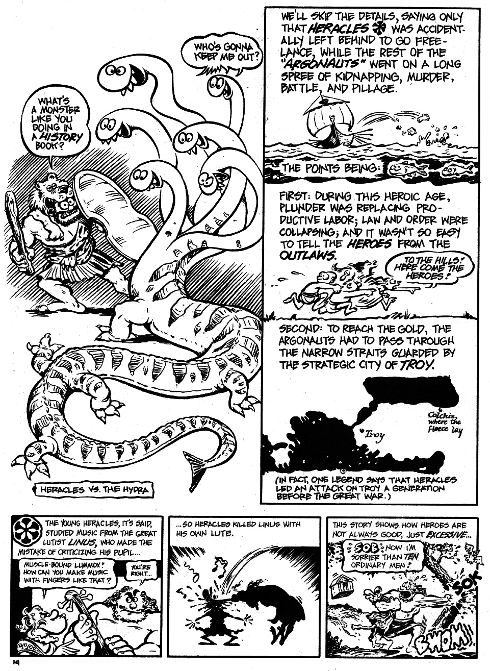 Read online The Cartoon History of the Universe comic -  Issue #5 - 16