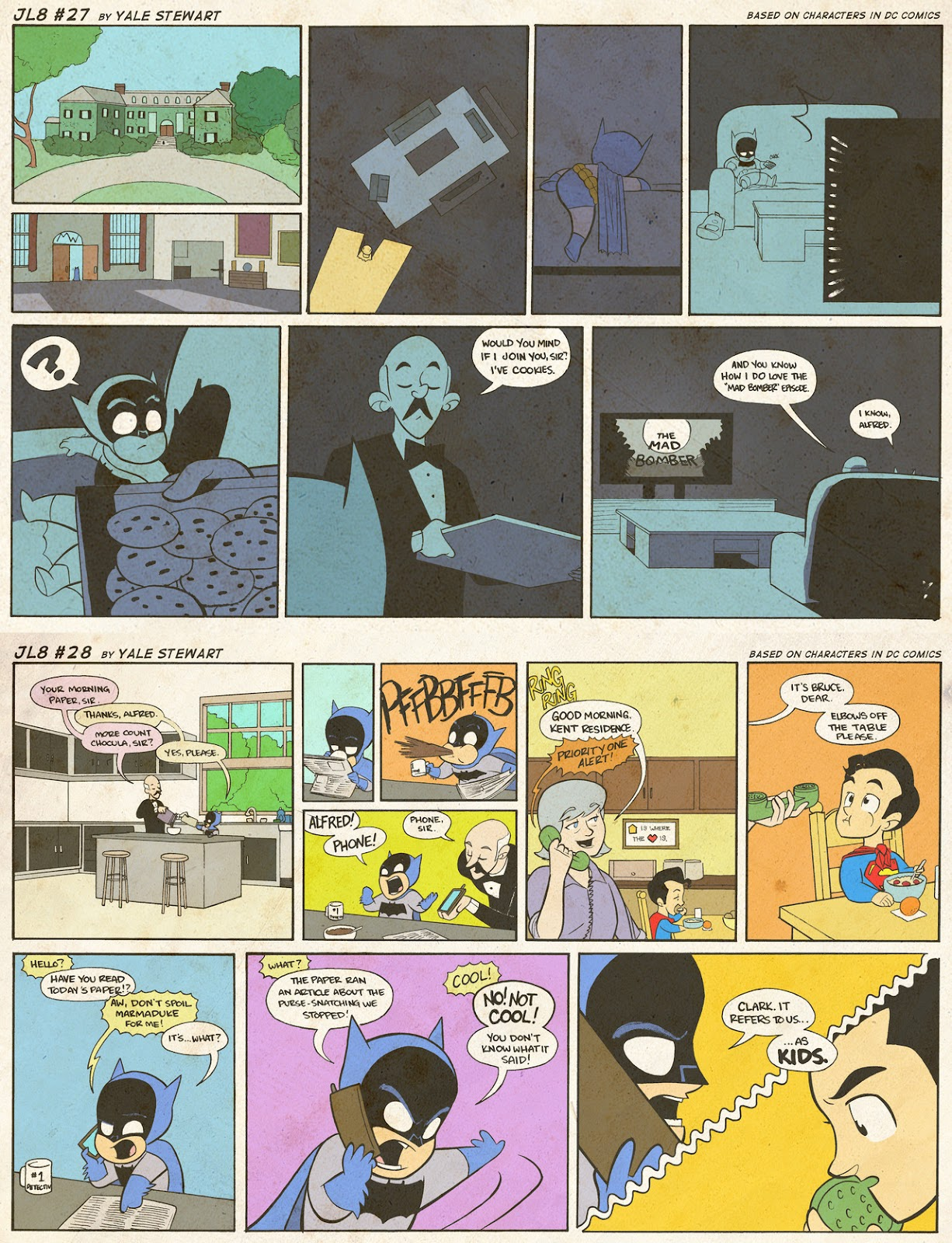 Read online JL8 – The Complete Collection comic -  Issue # TPB (Part 1) - 12