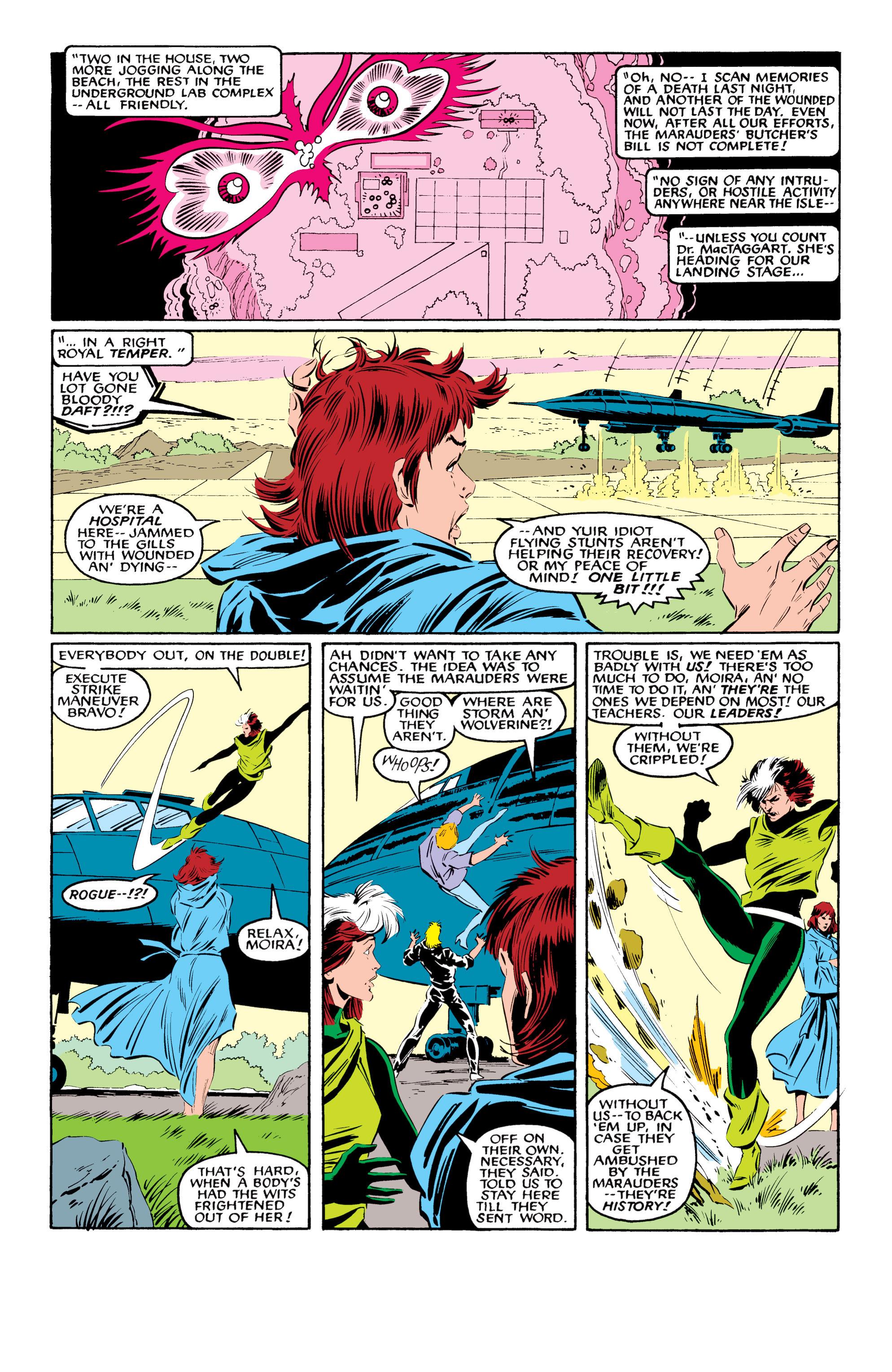 Read online Uncanny X-Men (1963) comic -  Issue #216 - 10