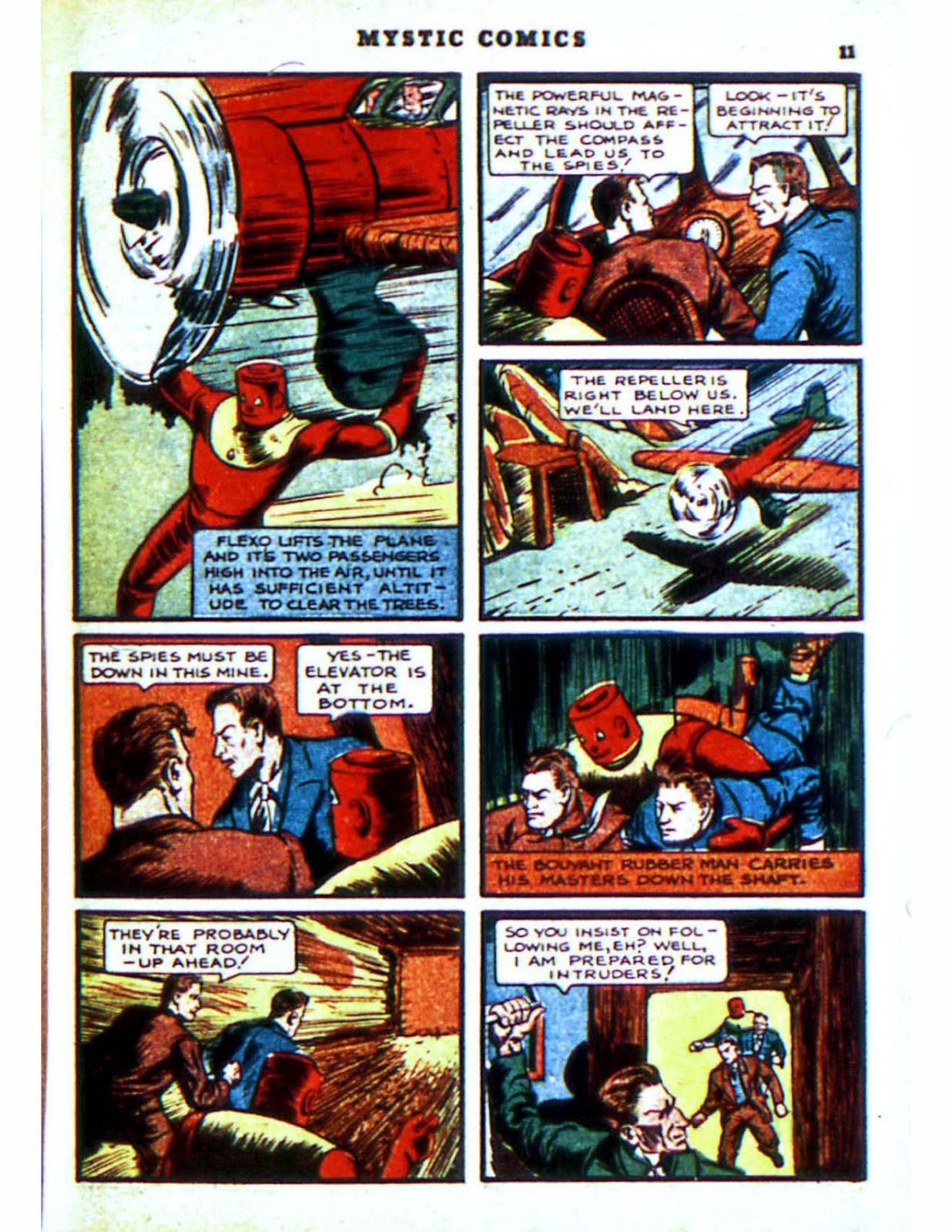 Mystic Comics (1940) issue 2 - Page 13