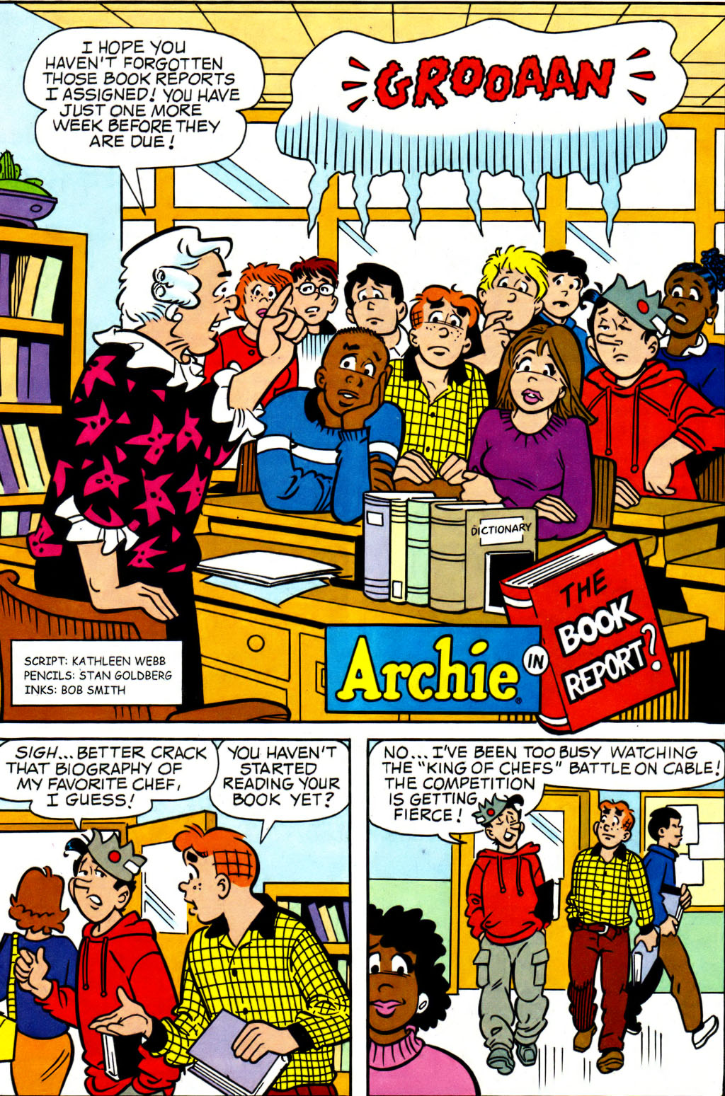 Read online Archie (1960) comic -  Issue #562 - 18