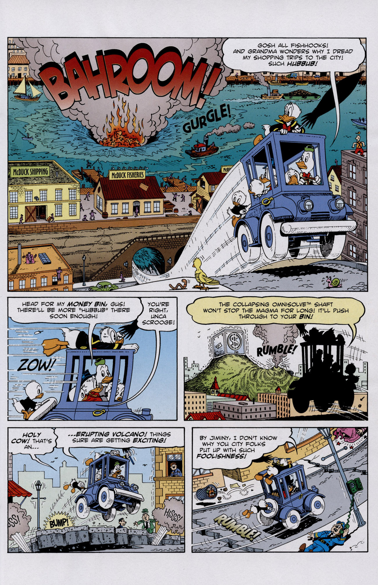 Read online Uncle Scrooge (1953) comic -  Issue #401 - 23