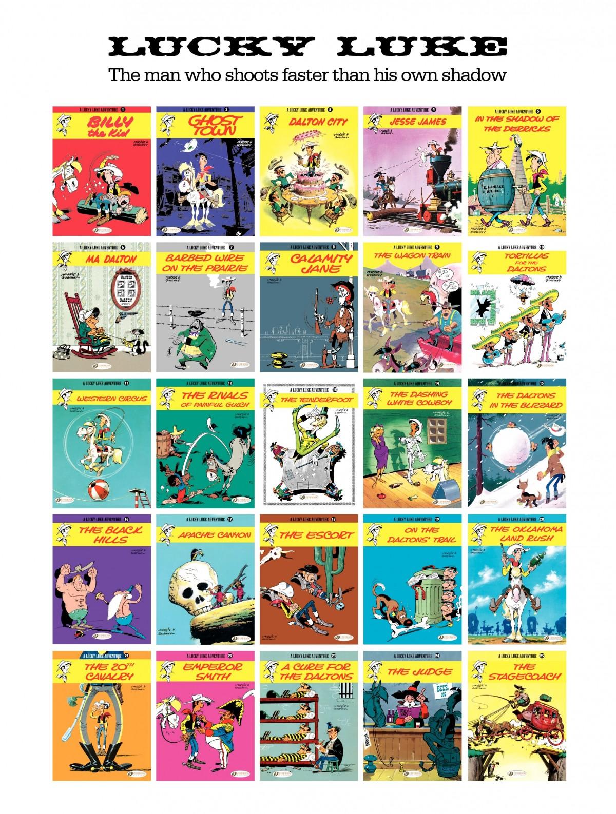 Read online A Lucky Luke Adventure comic -  Issue #46 - 47