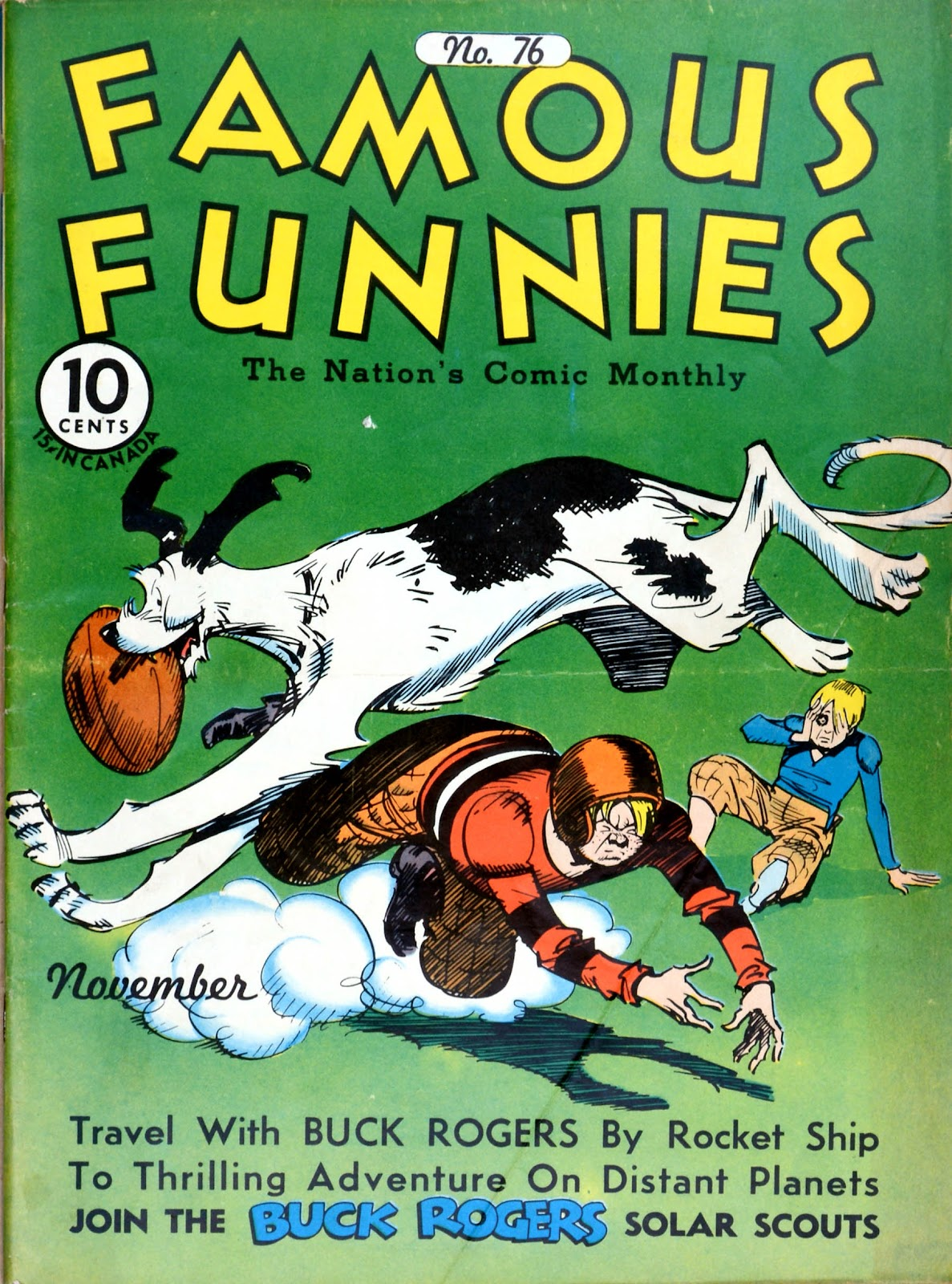 Read online Famous Funnies comic -  Issue #76 - 1