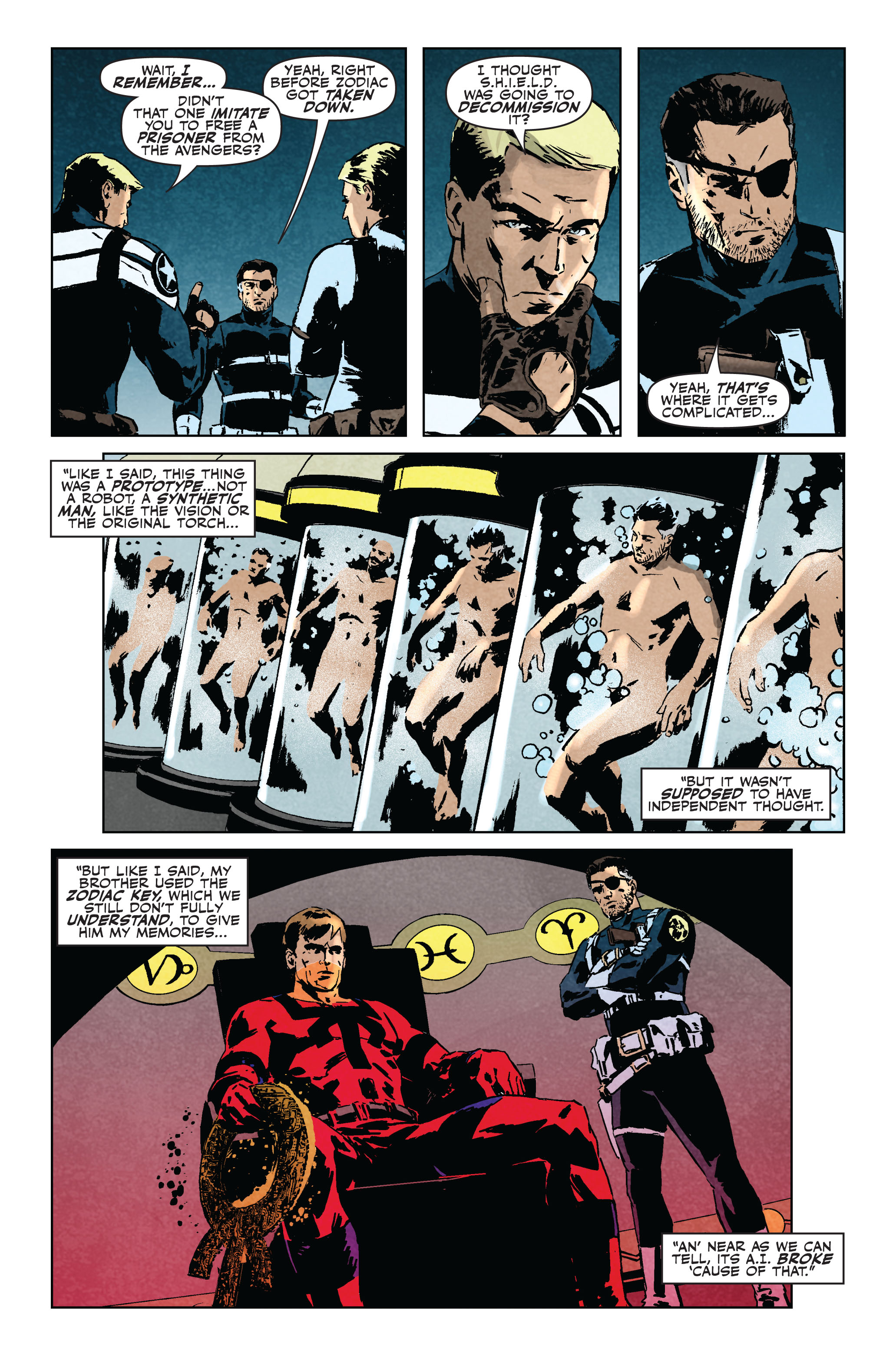 Read online Secret Avengers (2010) comic -  Issue #5 - 9