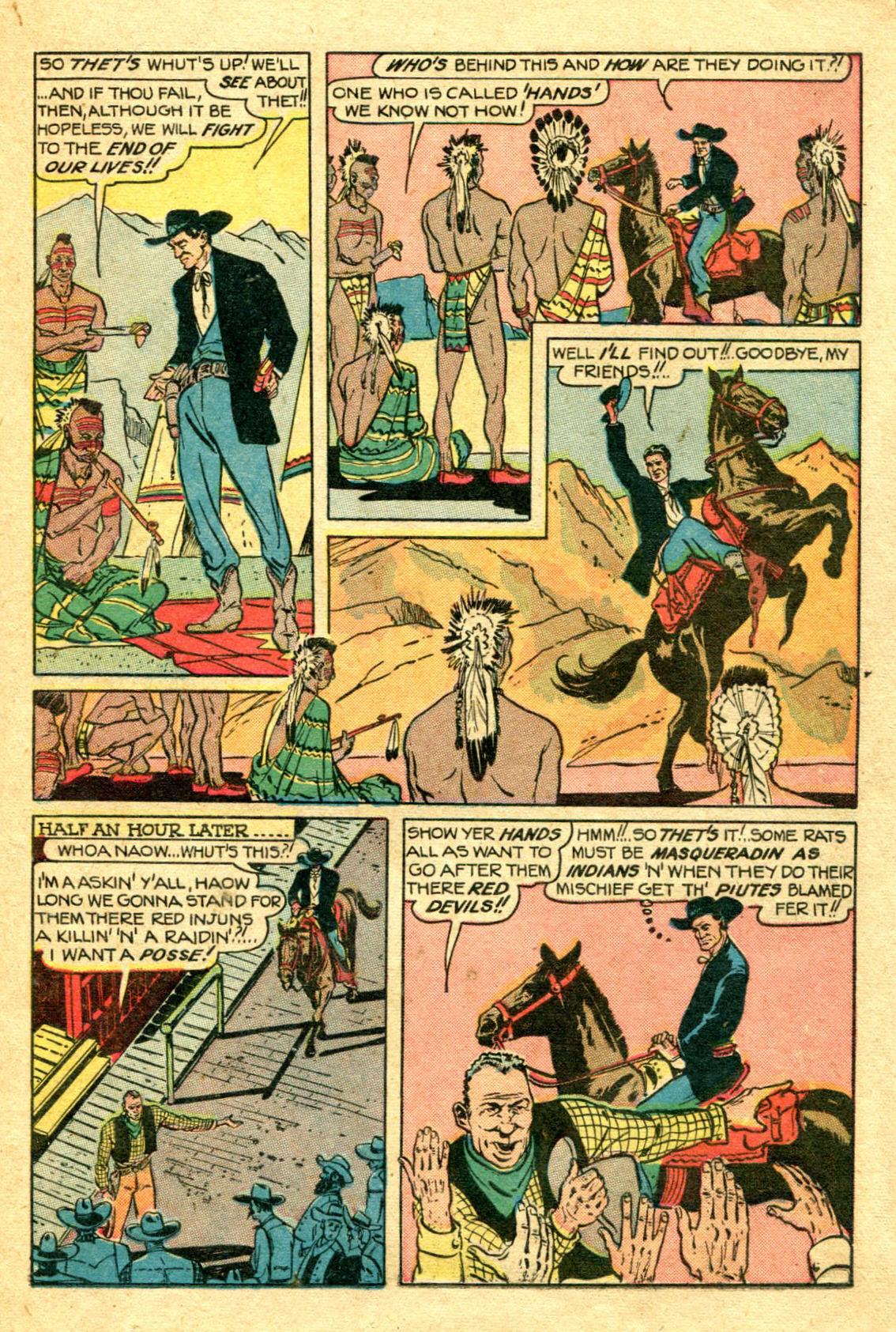 Read online Shadow Comics comic -  Issue #75 - 18