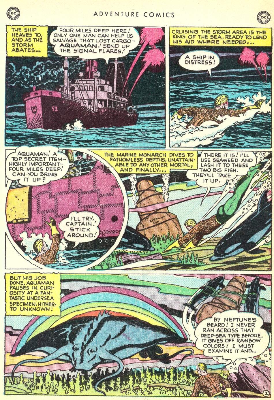Read online Adventure Comics (1938) comic -  Issue #146 - 16