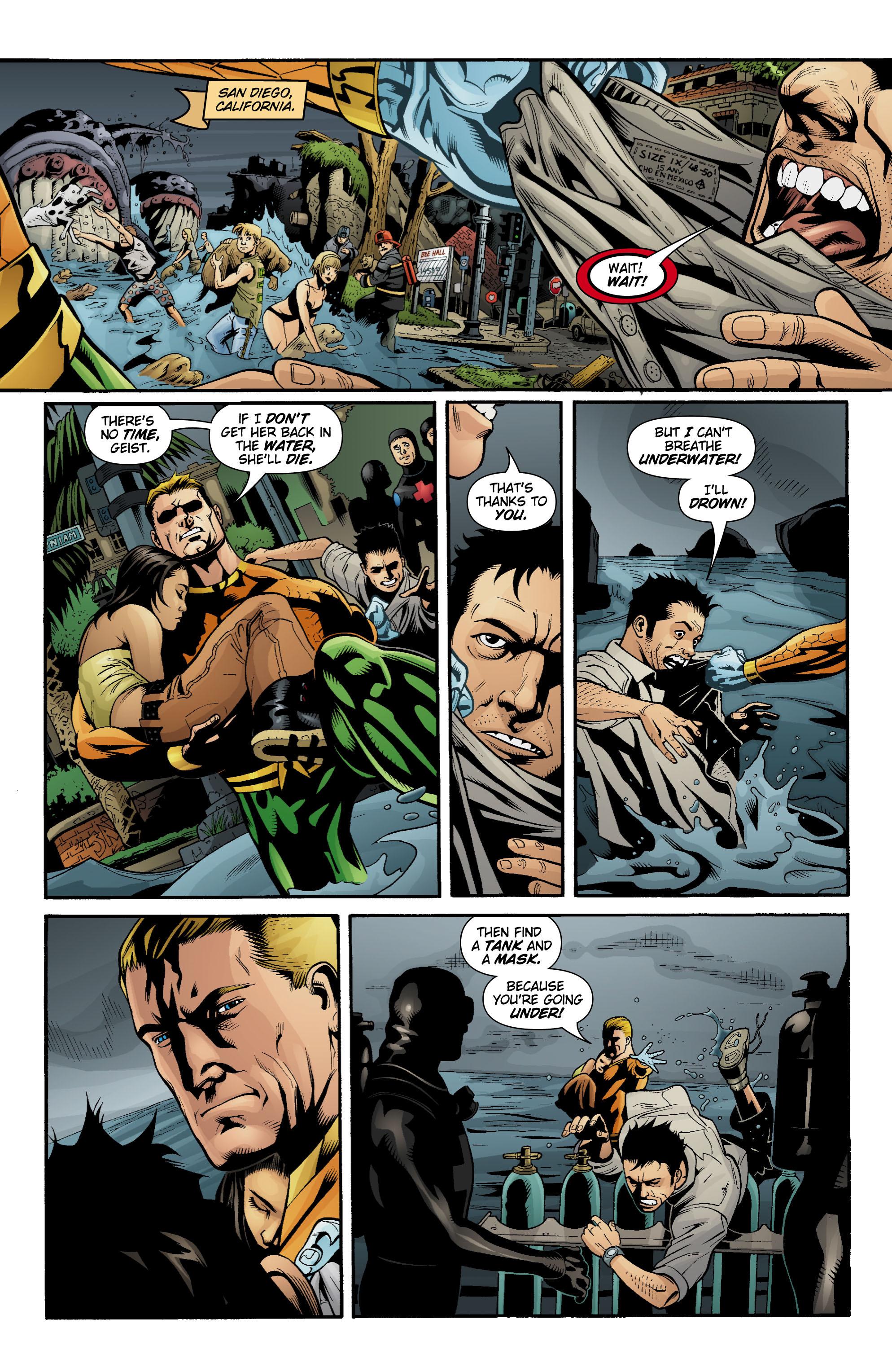 Read online Aquaman (2003) comic -  Issue #20 - 2